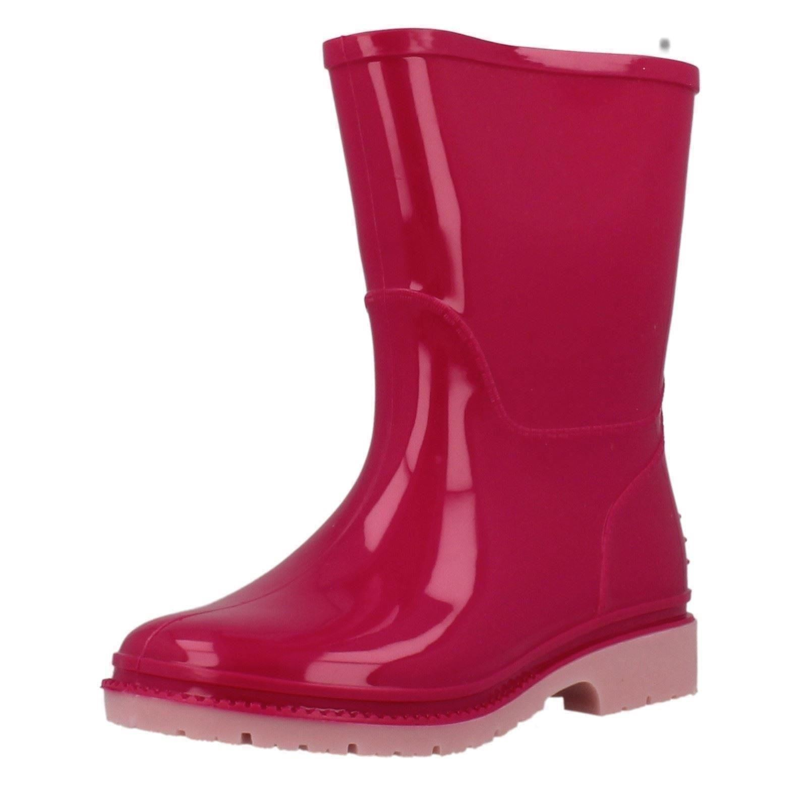 Girls Clarks Plain Pull On Wellingtons Abrienna