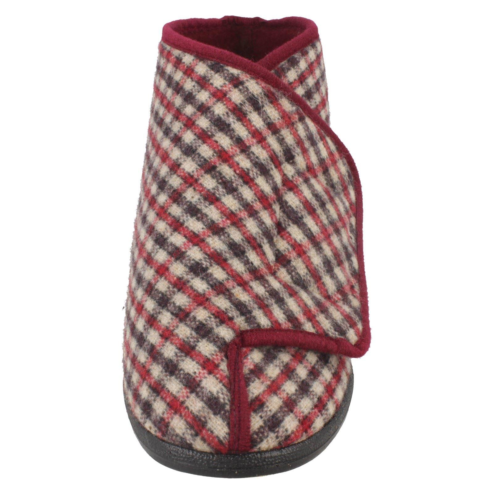 Vin Gawci Chaussons rouge carreaux baskets Balmoral à à Homme HATOZq0w
