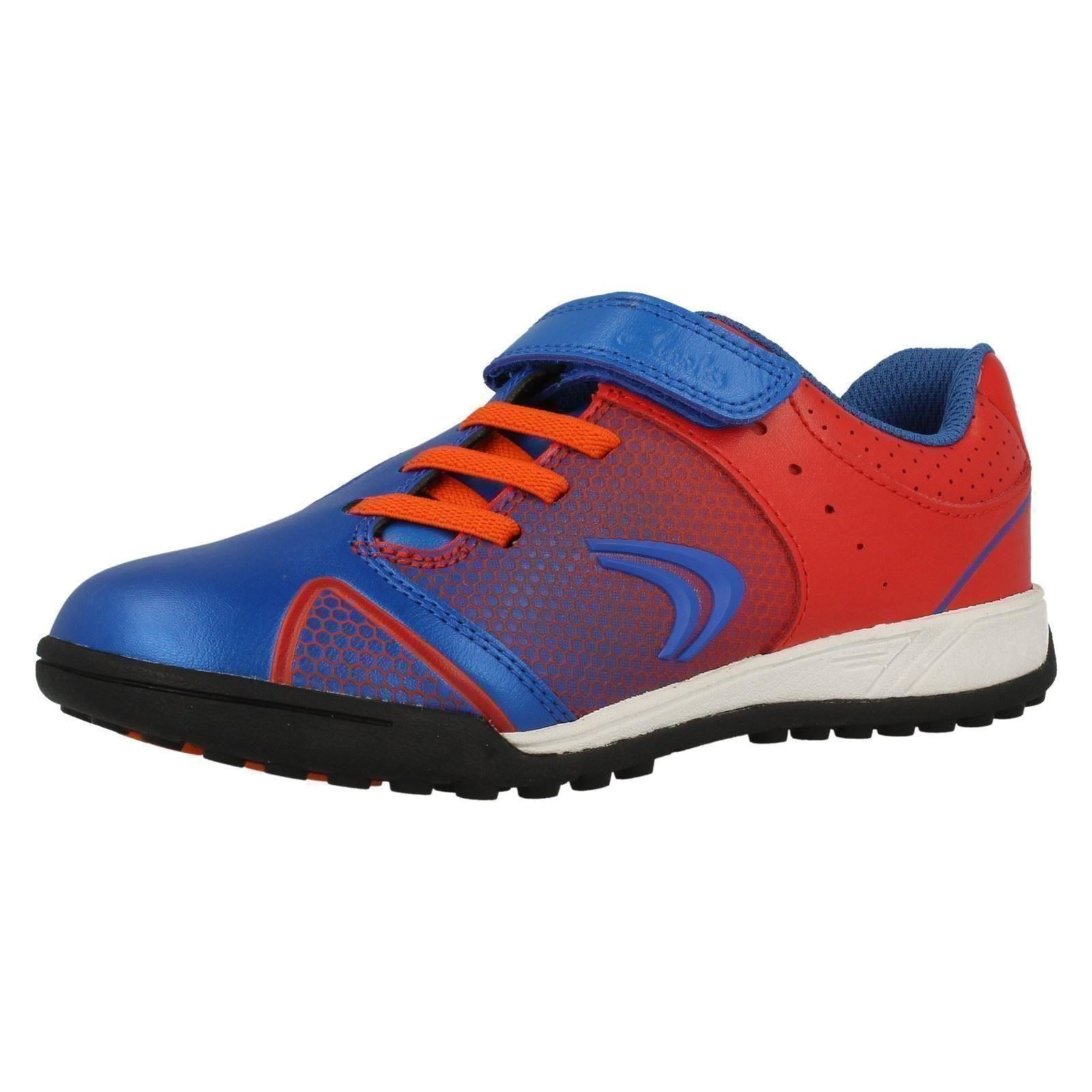 Boys Cica by Clarks Trainers /'In Goal/'