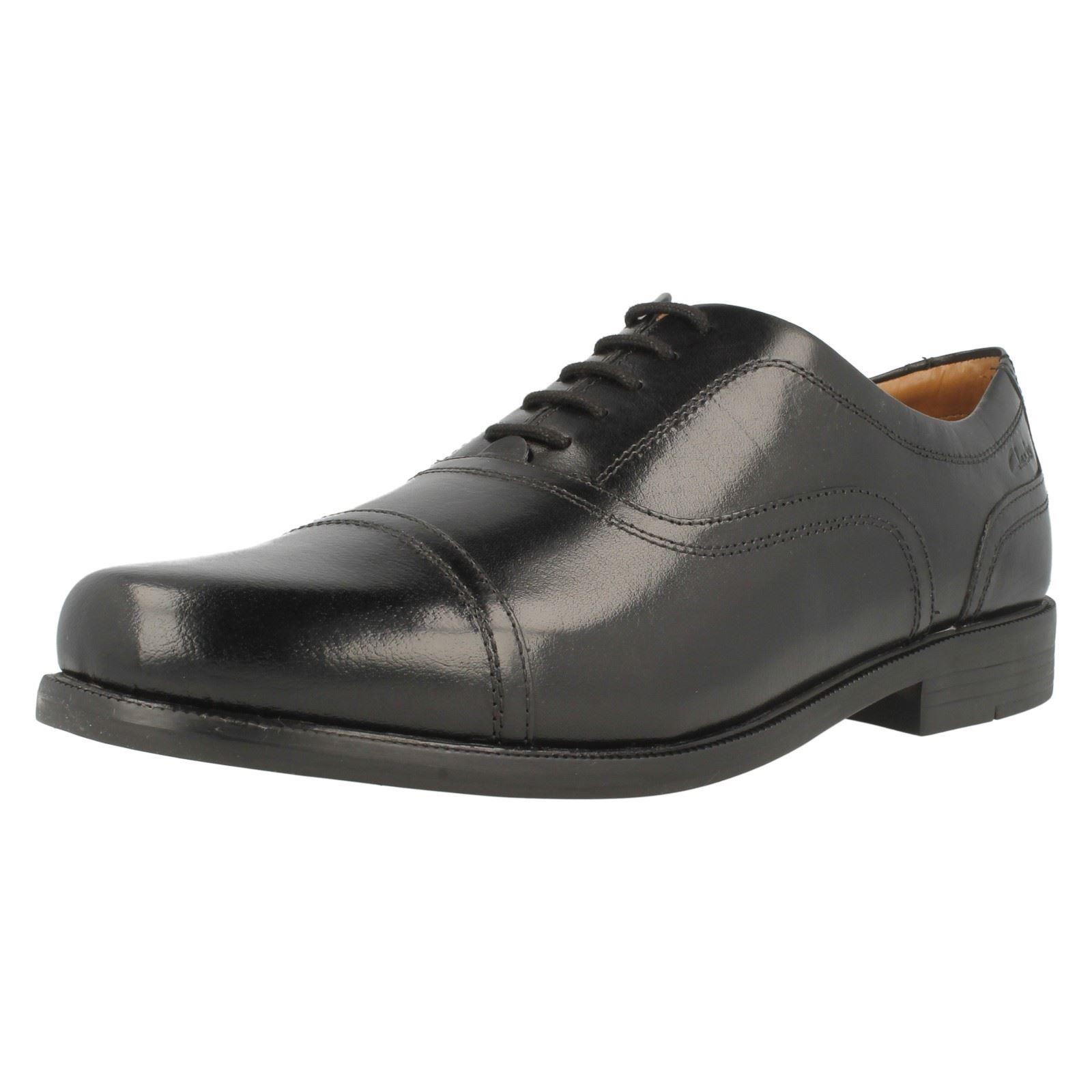 Clarks Mens Slip On Formal Shoes Beeston Cap
