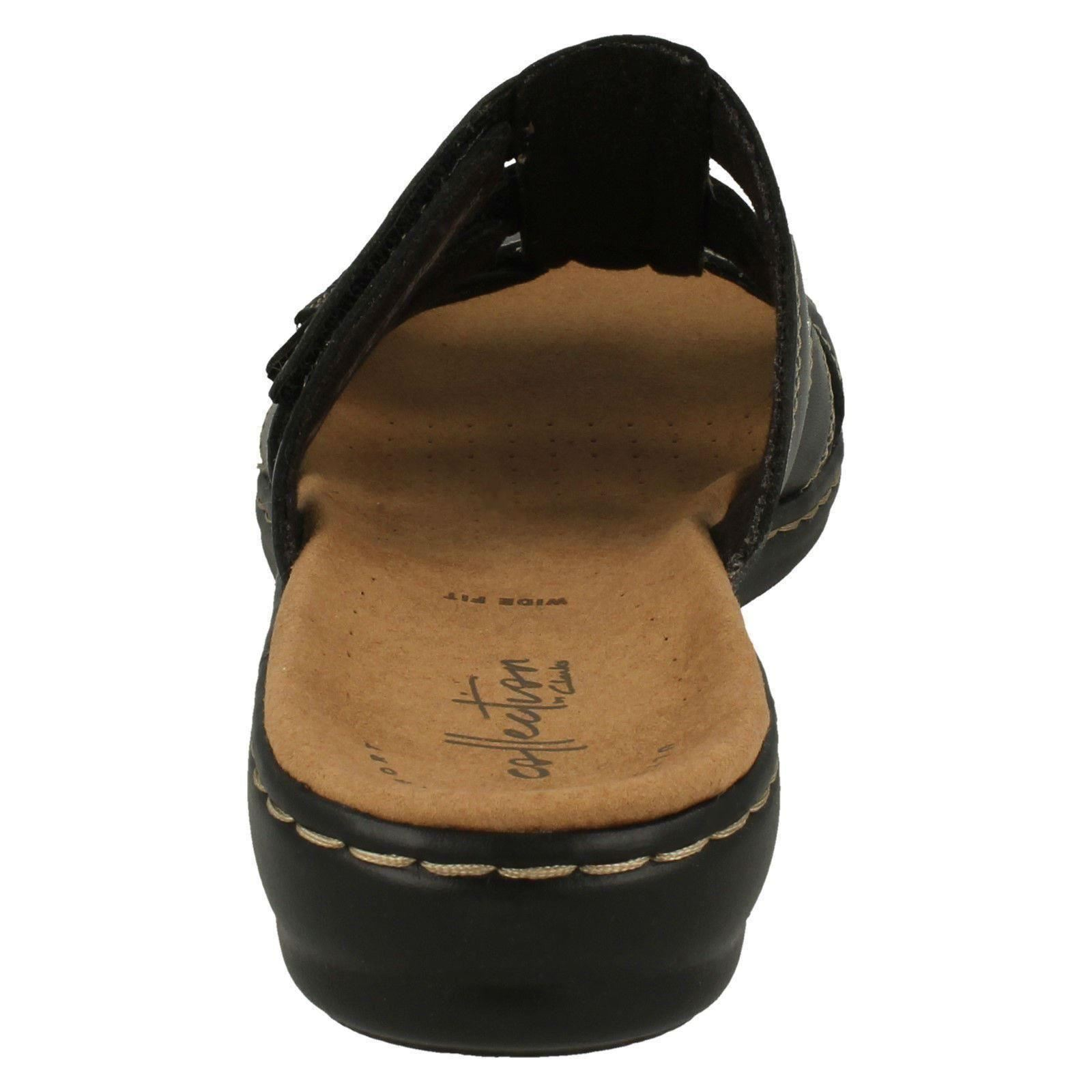 Ladies Clarks Casual Casual Casual Slip-On Mule Sandals Leisa Spring 26be2d