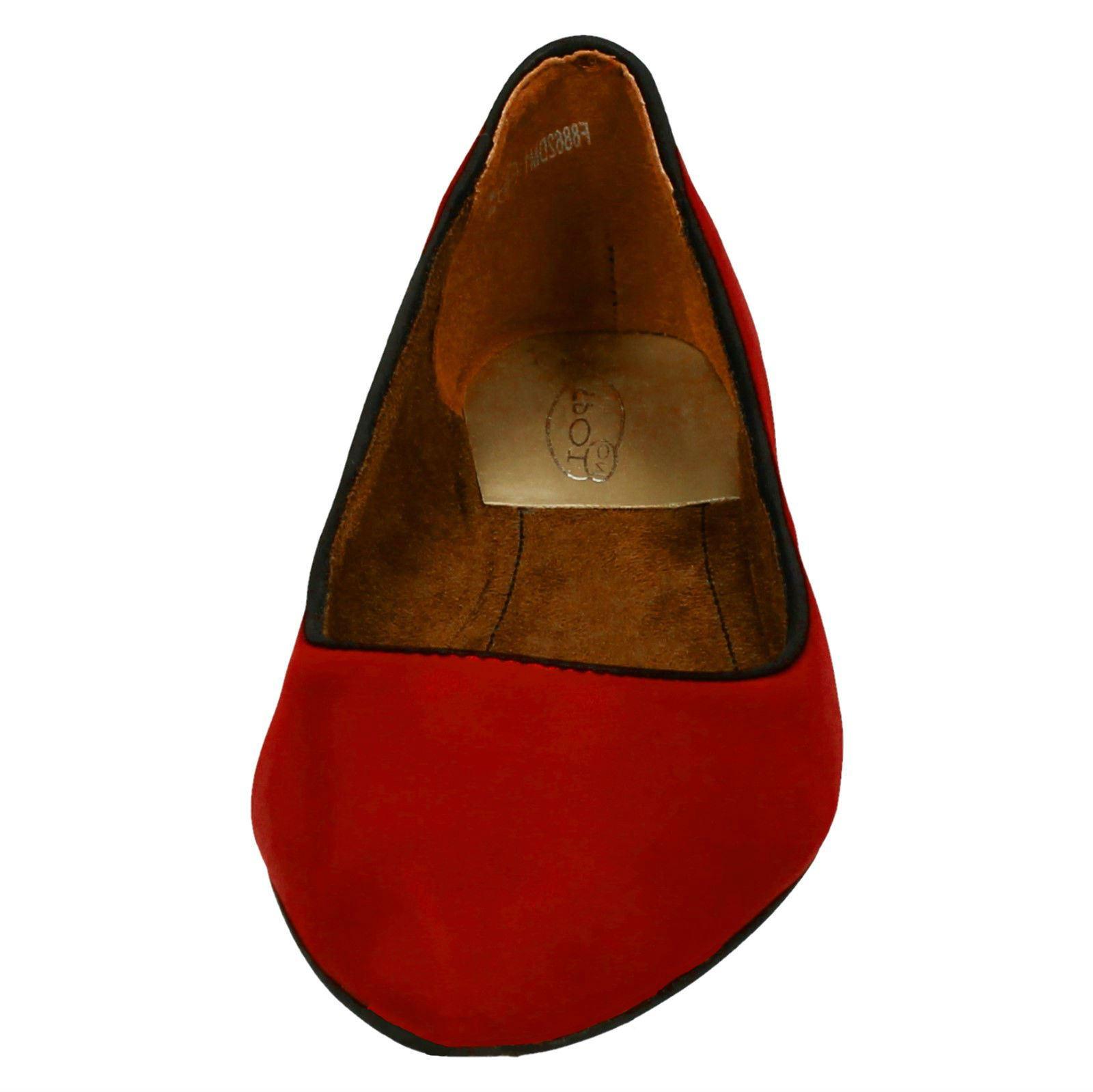 Spot on Damas Zapatos Planos En Punta Bailarina