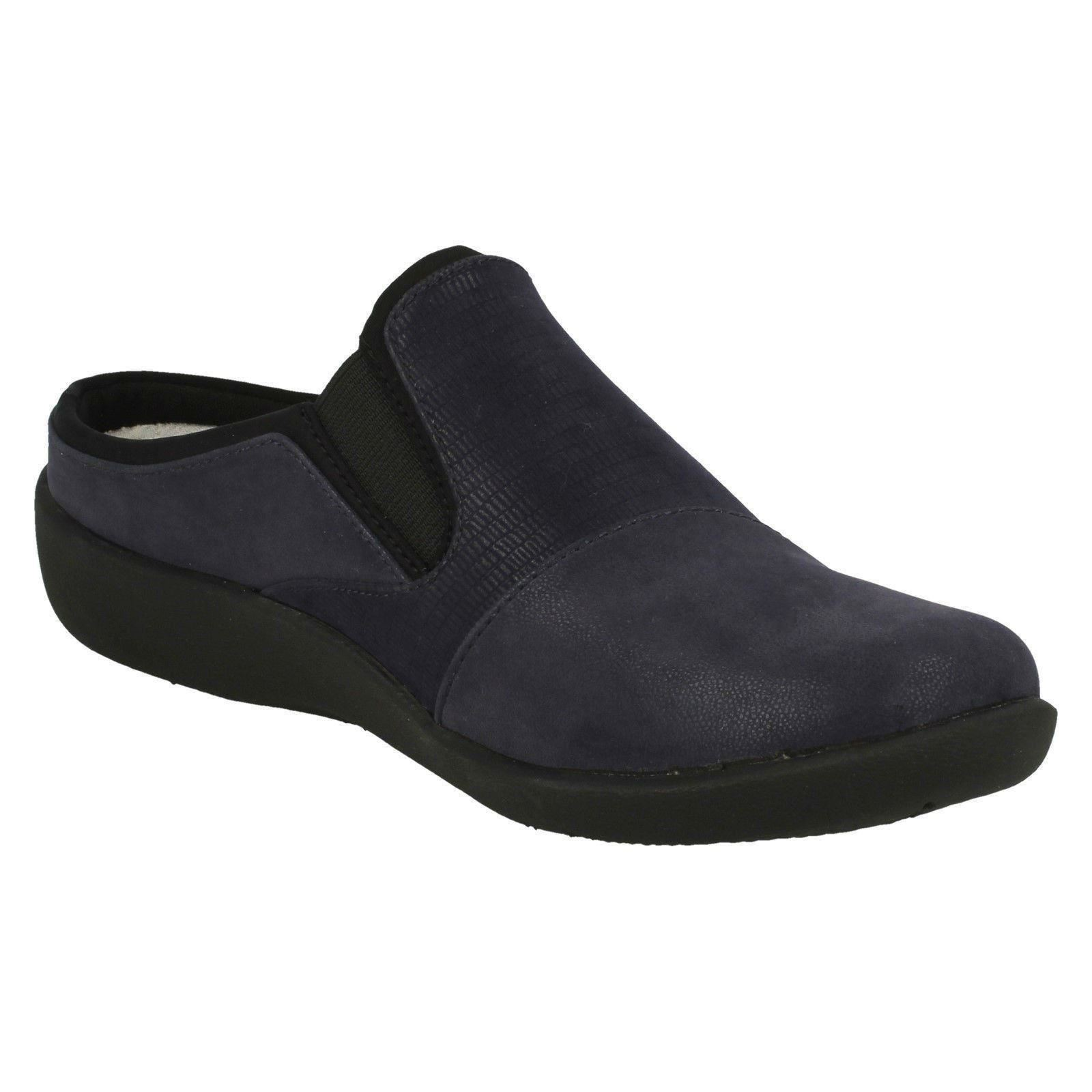 Ladies Clarks Cloud Steppers Mule Shoes Sillian Sillian Shoes Free 7c5be0