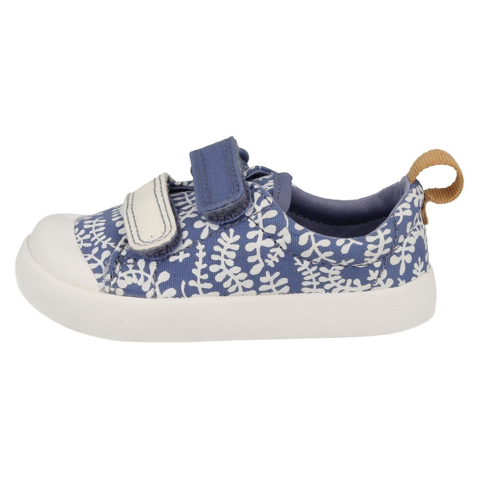 Infant Girls Clarks Machine Washable Summer Doodles Halcy Hati