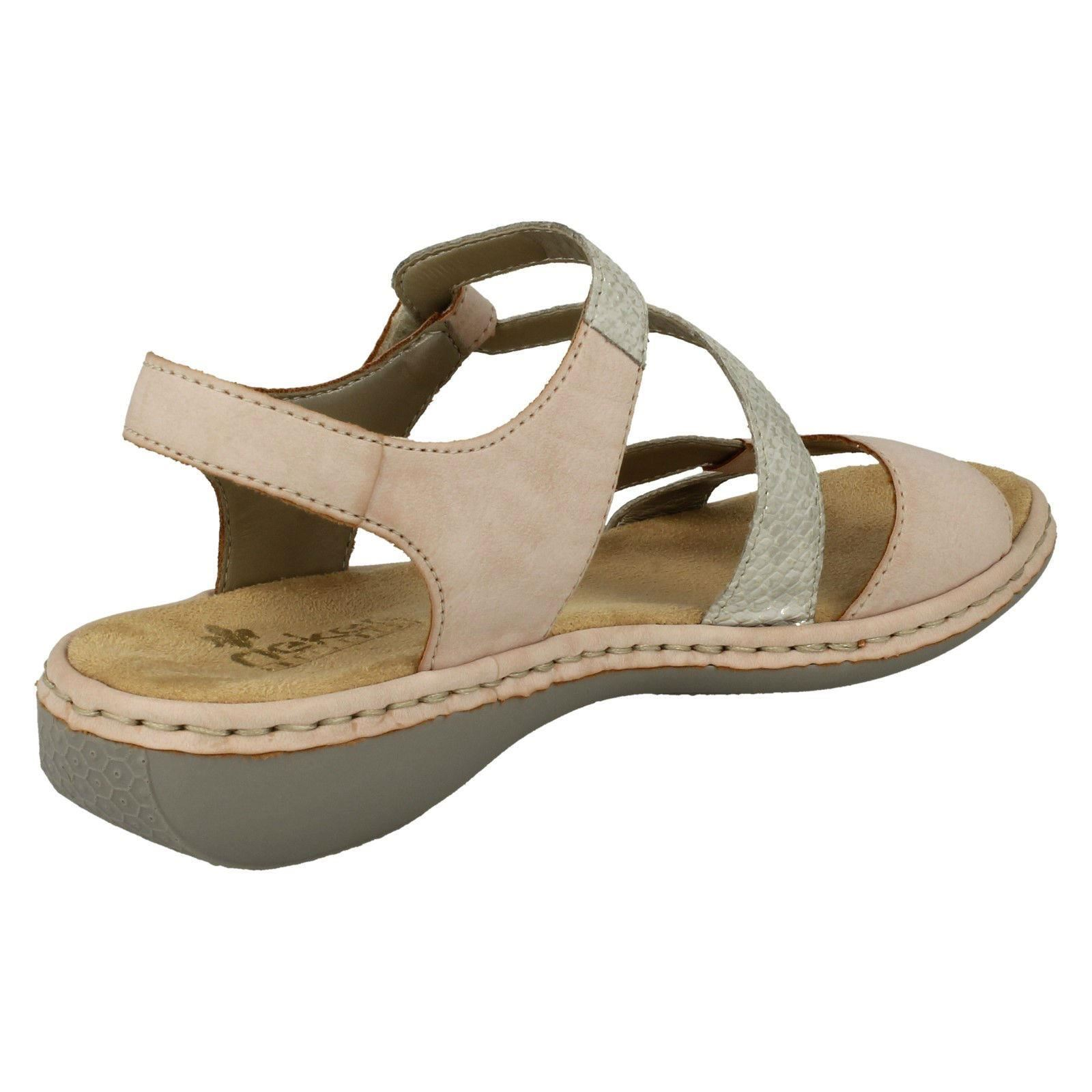 Ladie Rieker Casual Strappy Sandale 65969