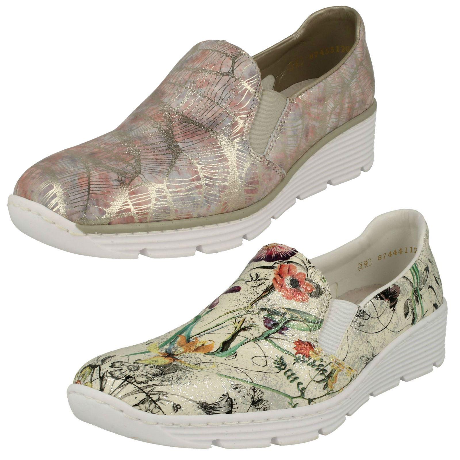 Zapatos multicolor casual Rieker 58766 para mujer w9LywqaBRk