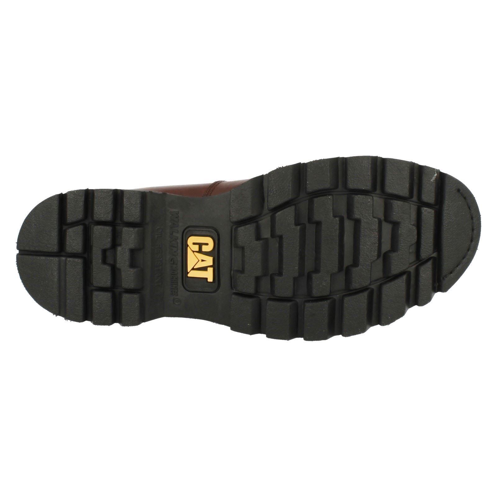 Mens Caterpillar Cap Lace Up Steel Toe Cap Caterpillar Boots Sheffield 8b80bc