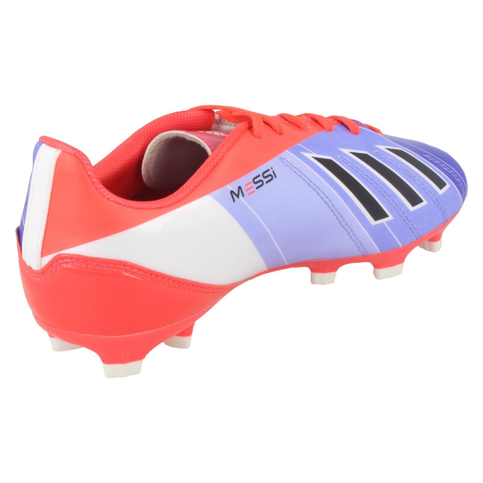 b1cadf178bc5 Boys Adidas Lionel Messi Collection Football Boots F10 TRX FG J | eBay