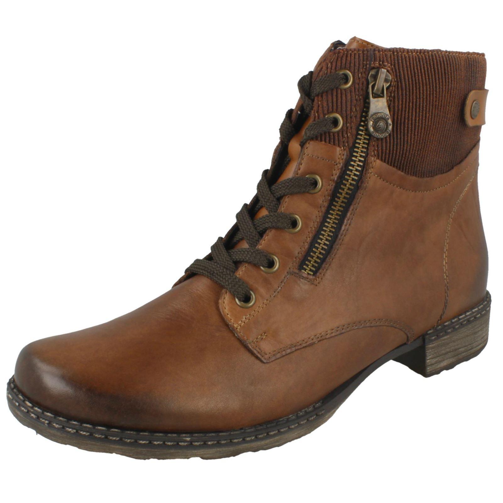 acheter pas cher acheter populaire nouveau concept Details about Ladies Remonte Ankle Boots - D4379