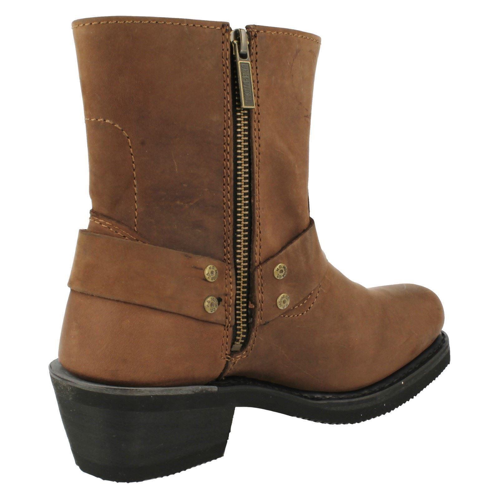73e181fc6d0fb6 Ladies-Harley-Davidson-Ankle-Boots-039-El-Paso-