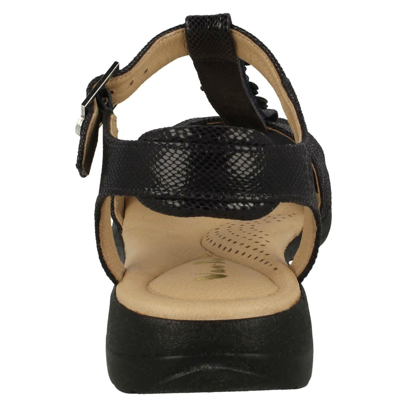 Midnight Dal Reptile Strappy blu Sandals Ladies Van Soft XTnfWAH6