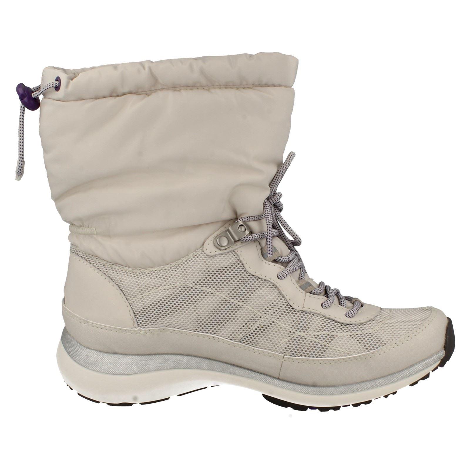 Ladies Wave Walk Shoes In Brown Uk