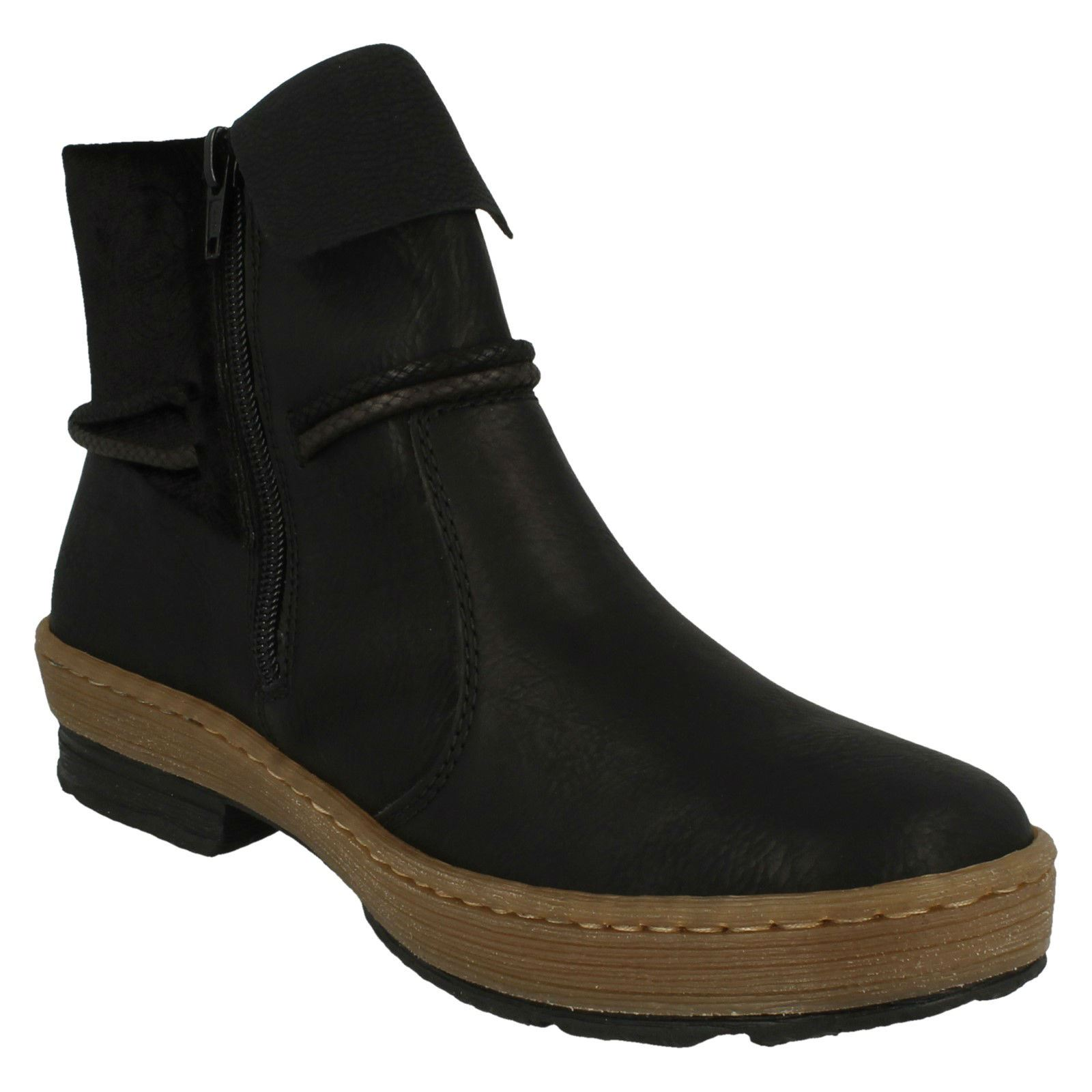 Womens Womens Womens Rieker Casual Ankle Boots - Z6771 563688