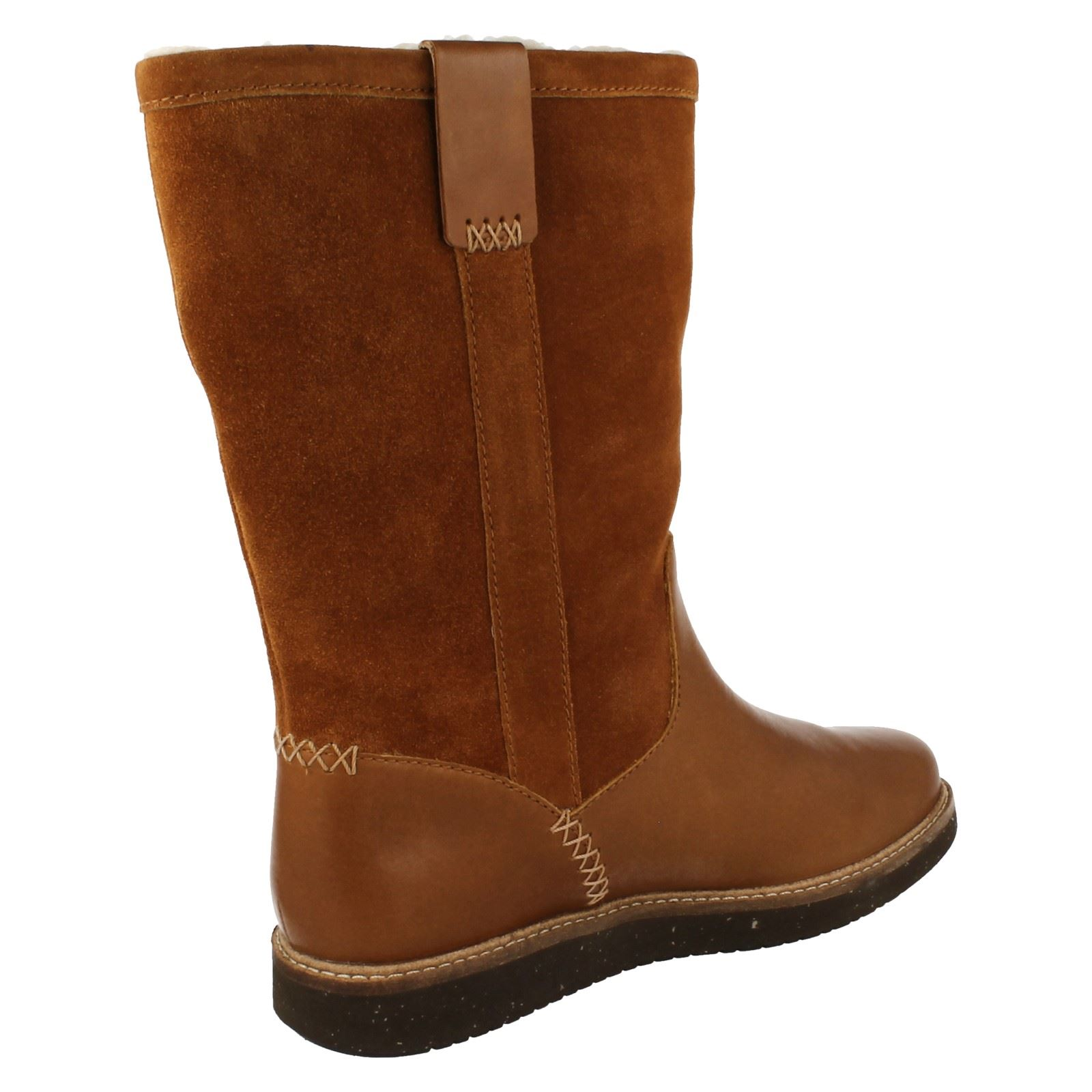 ed34c2a802 Ladies-Clarks-Glick-Elmfield-Mid-Calf-Boots thumbnail 16