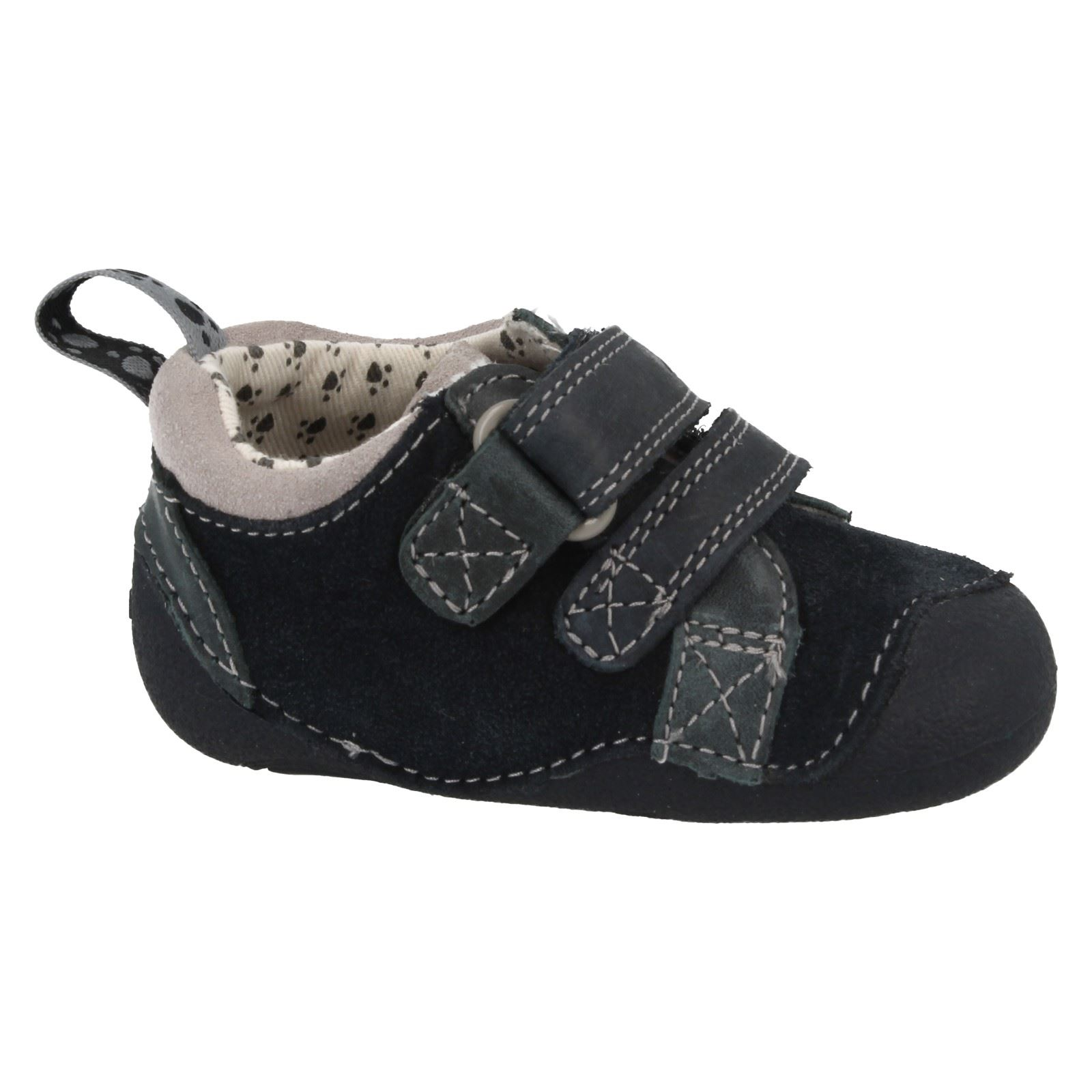 Clarks Chicos Paw Tiny Shoes Casual Cruiser Blue rrXqda