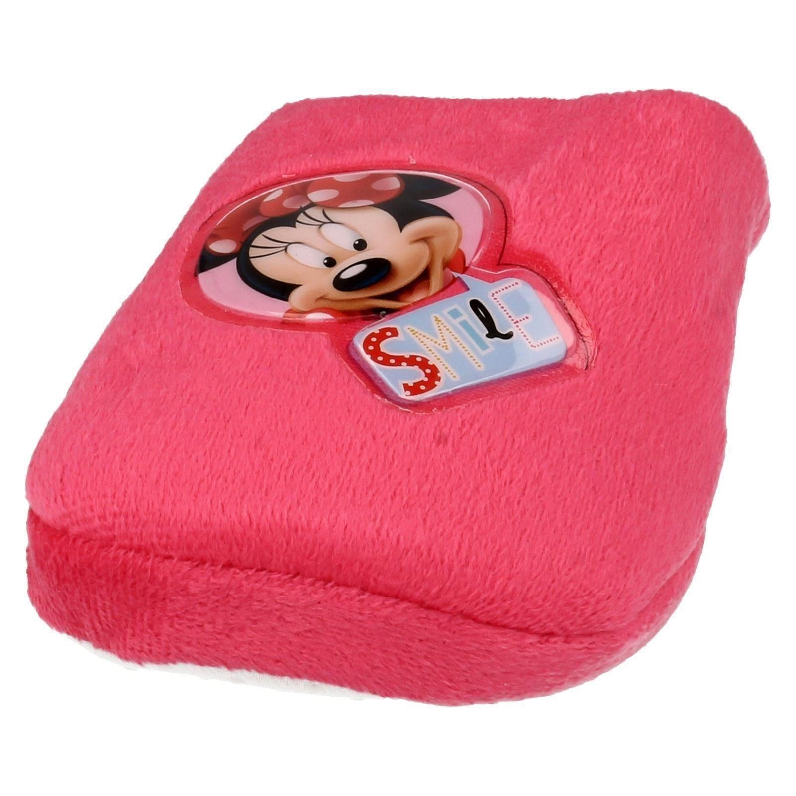 Niñas Punto en sonrisa Minnie Mouse Zapatillas Minnie