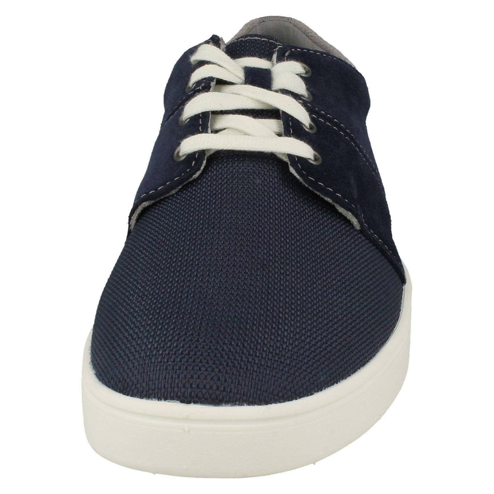 hombre casual zapatos Edge con cordones marino de Clarks Azul para Landry wHxaEqaB
