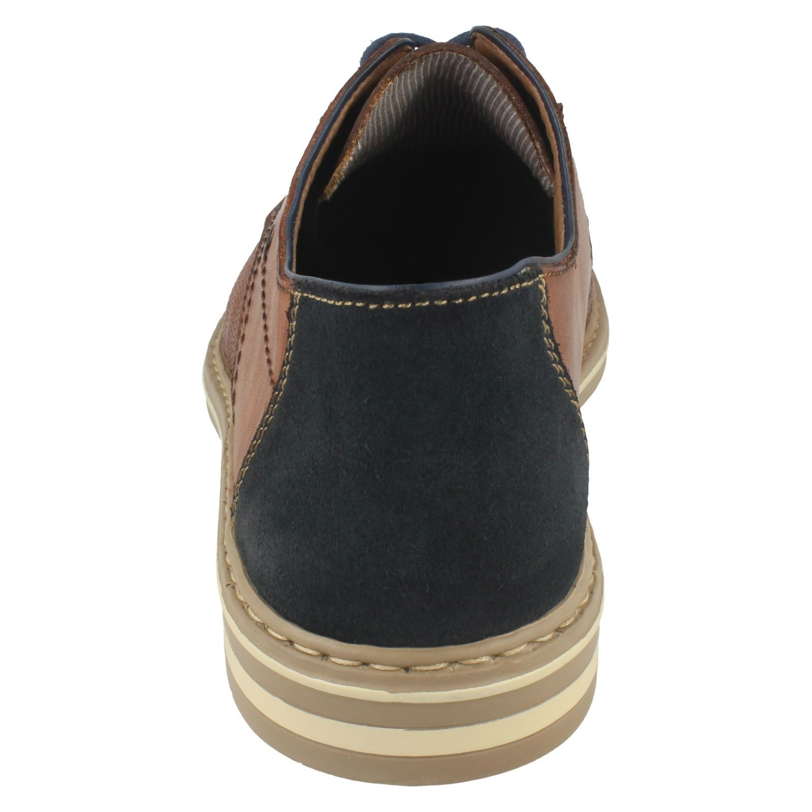 Mens Rieker Casual Lace Up Casual Rieker Shoes - B14B9 05bf0a