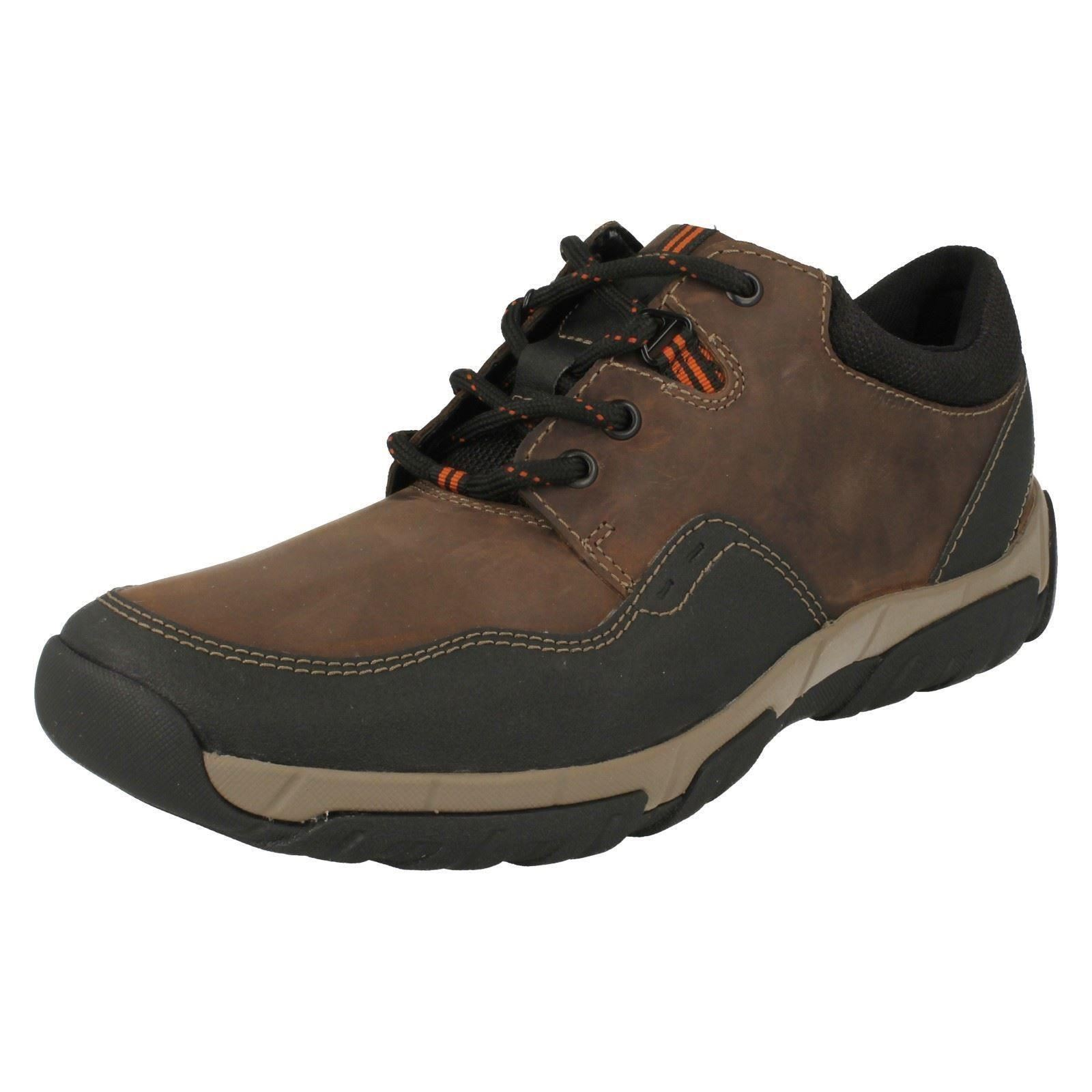 Uomo Clarks Schuhes Casual Waterproof Lace Up Schuhes Clarks Walbeck Edge 108ba9