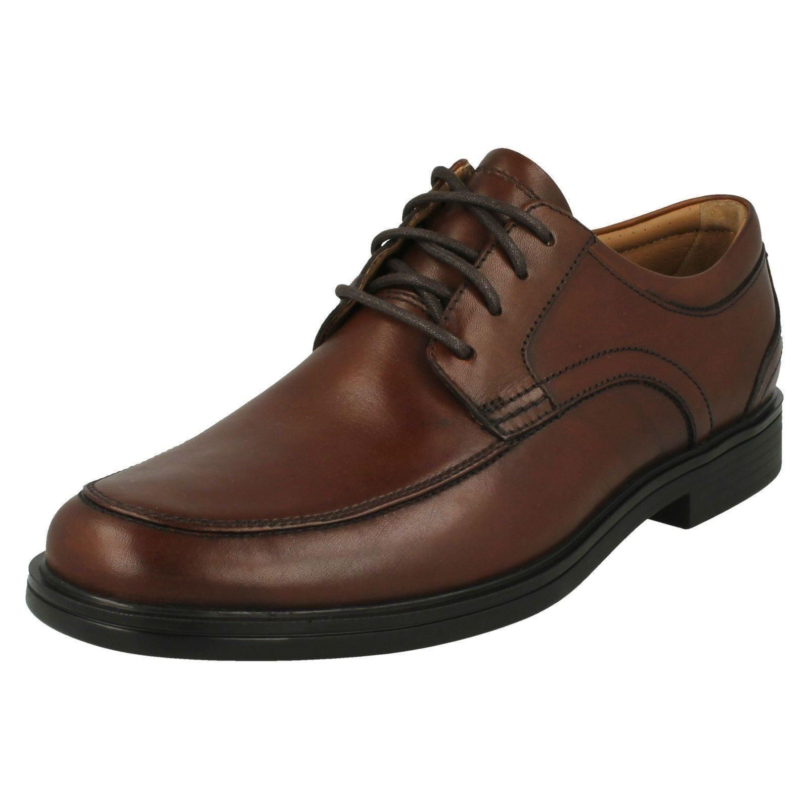 6bf9bd6aa19 Mens Clarks Smart Lace up Shoes Un Aldric Park UK 8 Tan (brown) G. About  this product. Picture 1 of 10  Picture 2 of 10 ...