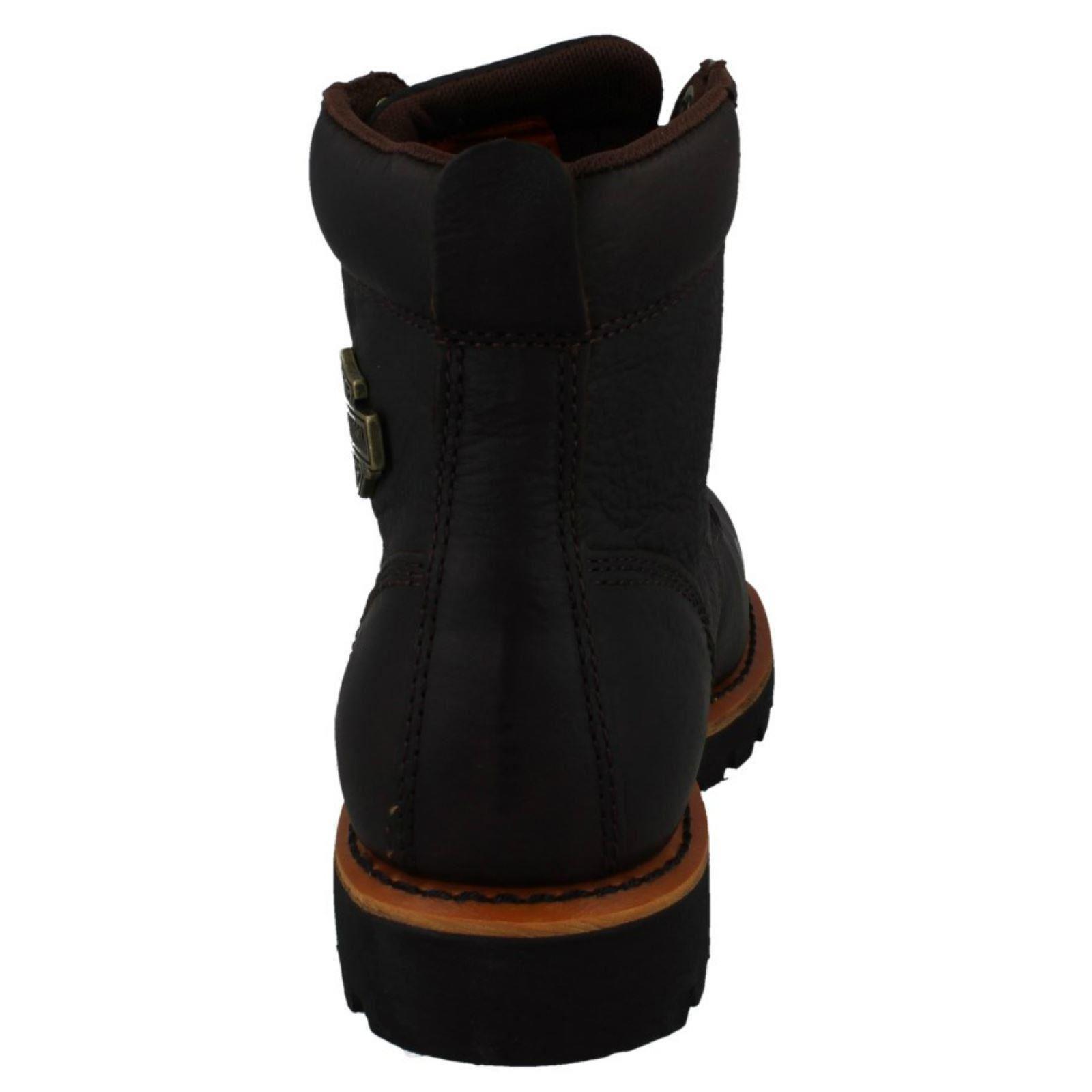 Brown Davidson Lace Ridge Vista Boots Harley Mens Up Ankle Uq8EA45