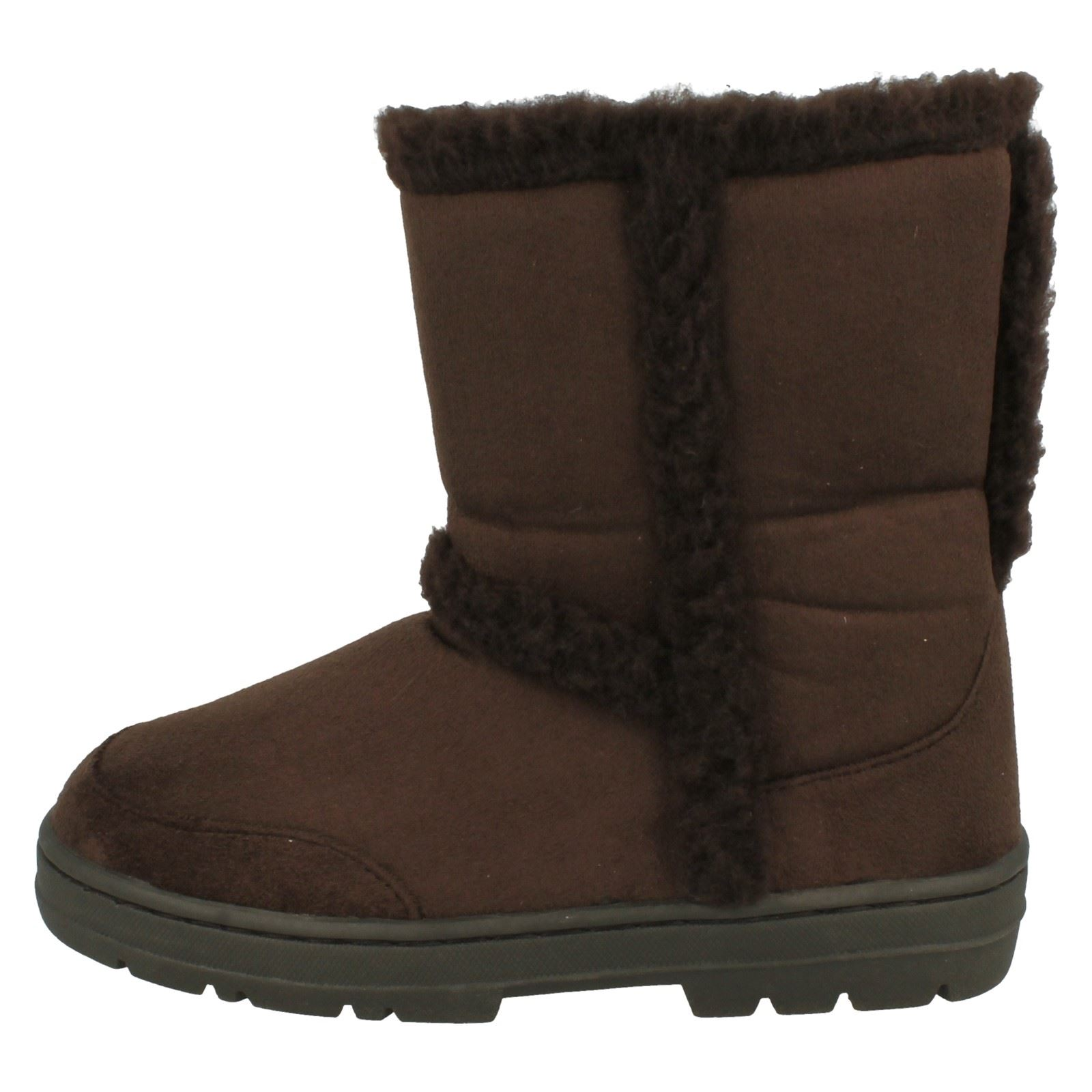 usa cheap sale latest trends arriving Details about Ladies Spot On Fleece Lined 'Ankle Boots'