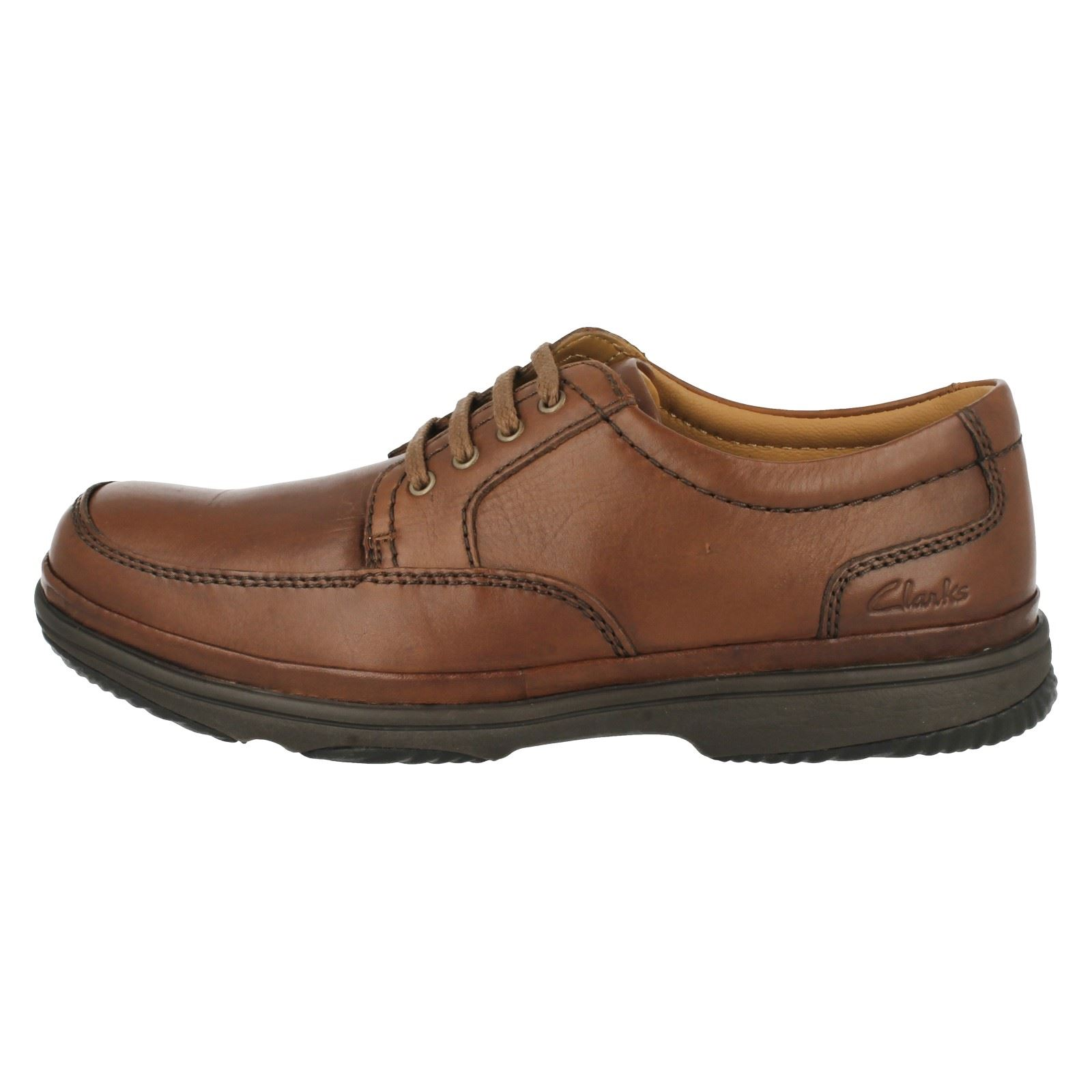 Mens Clarks Up Flexlight Wide Fitting Lace Up Clarks Shoe Swift Mile ea328e