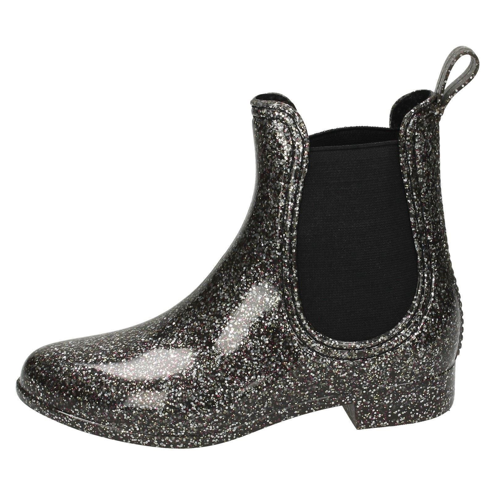 Girls Spot On Ankle Wellington Boots