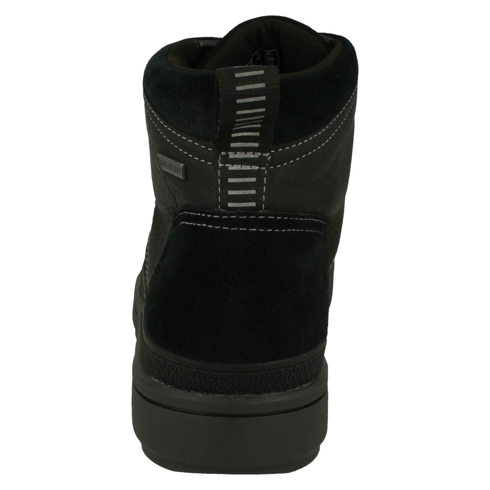 tex Casual 'rushway Nero Mens Boots Clarks Mid' Gore qEwq78Tt