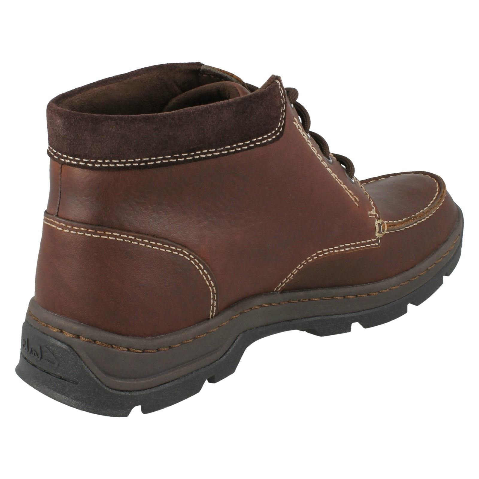 Clarks Mens Leather GTX Stanten Boots Stanten GTX Time c98817