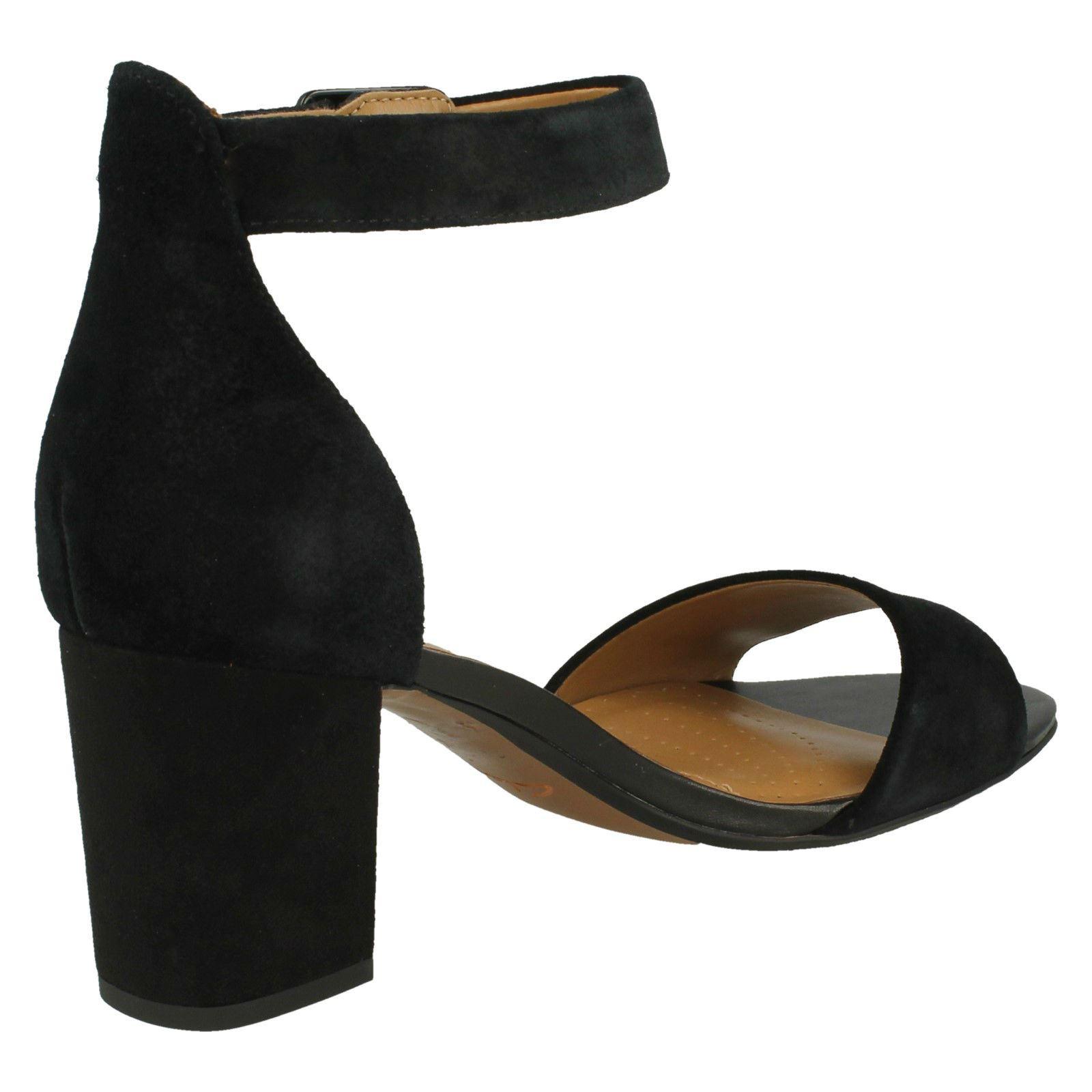b6e3423e363 Ladies-Clarks-Heeled-Sandals-Deva-Mae thumbnail 6