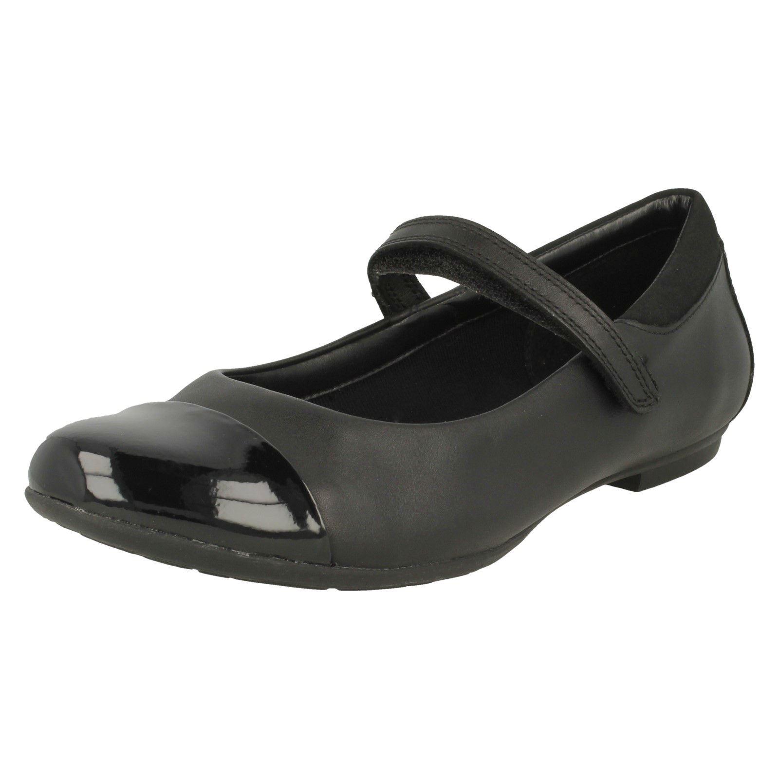 niñas Black Calzado Mary estilo escolar para Clarks Talk Tizz Jane xqRfxY7