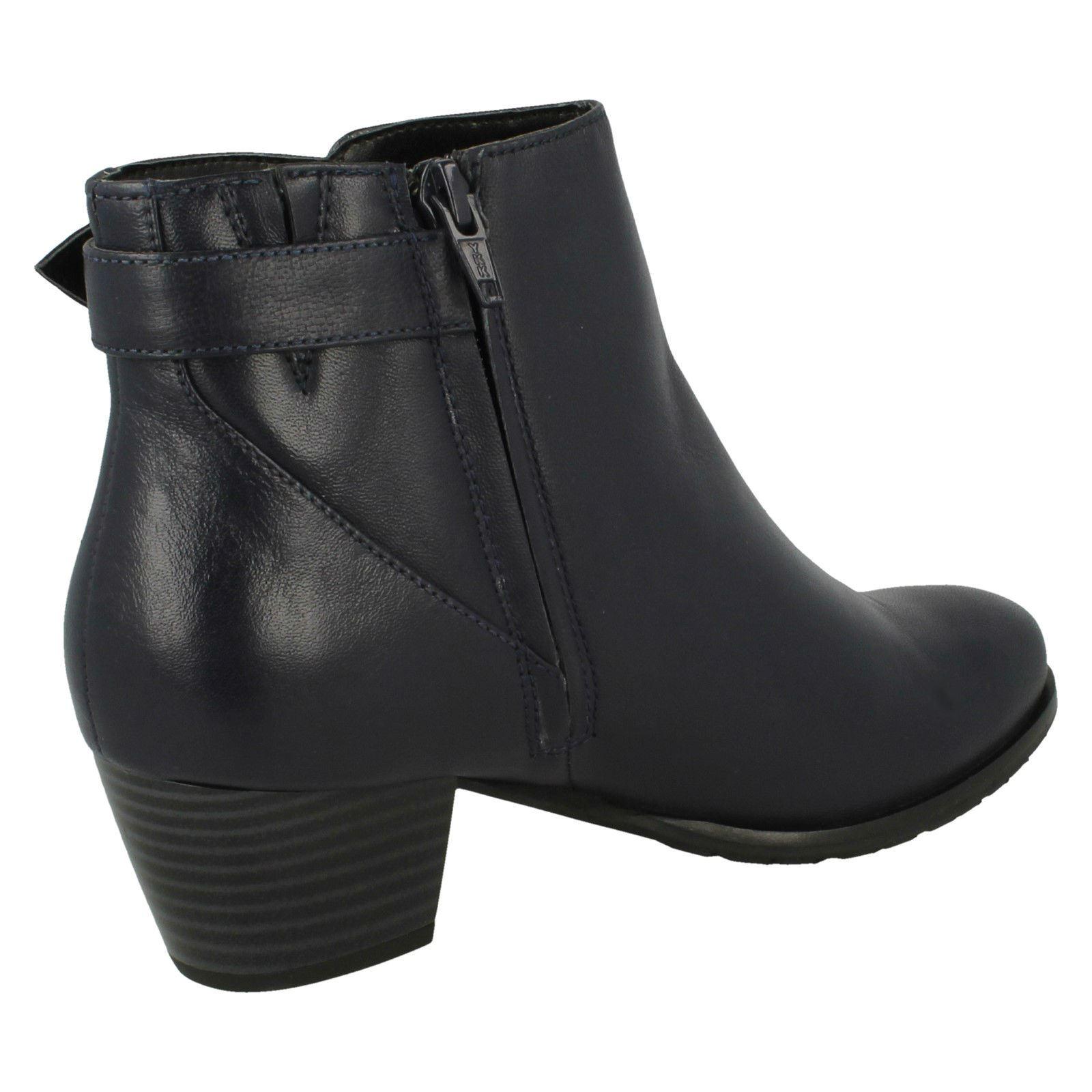 Ladies Van Boots Dal Smart Ankle Boots Van - Porter 8f13ec