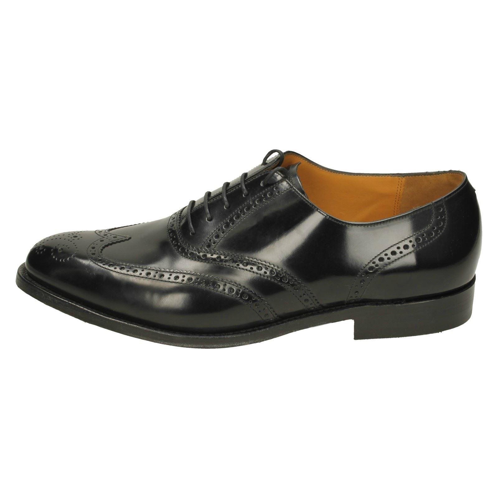 Herren Barker Brogue Style Schuhes Albert 91d341
