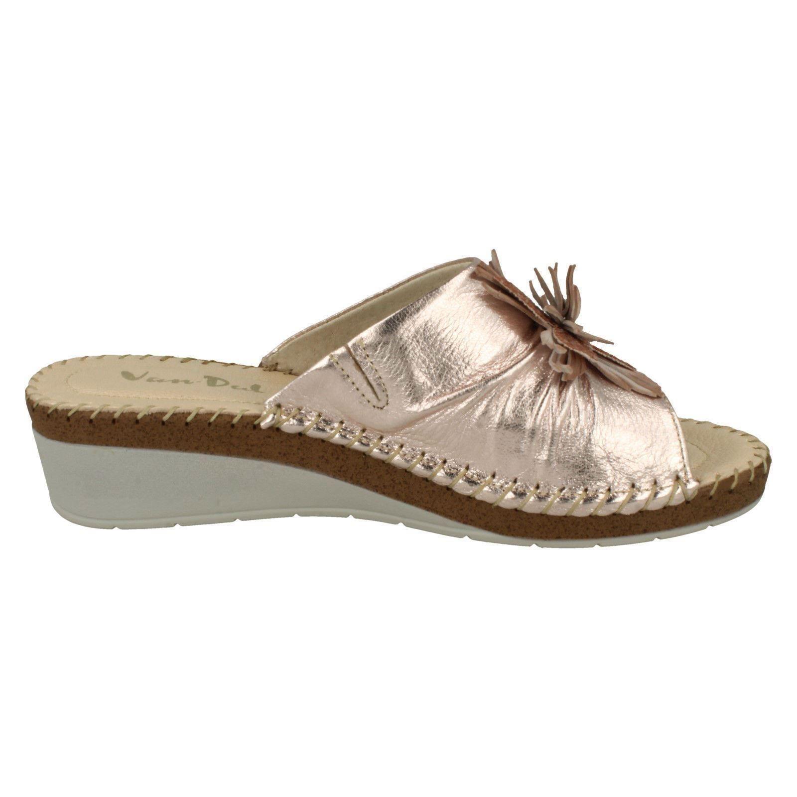 Ladies-Van-Dal-Wedge-Heel-Mule-Sandals-039-Banks-039 thumbnail 4