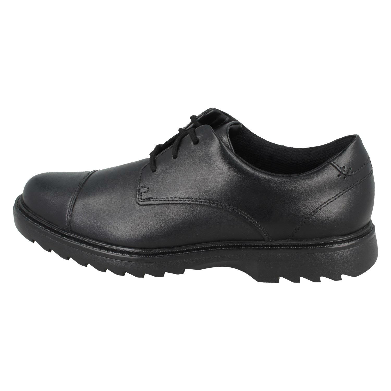 Boys Clarks Formal Lace Up School Shoes /'Asher Soar/'