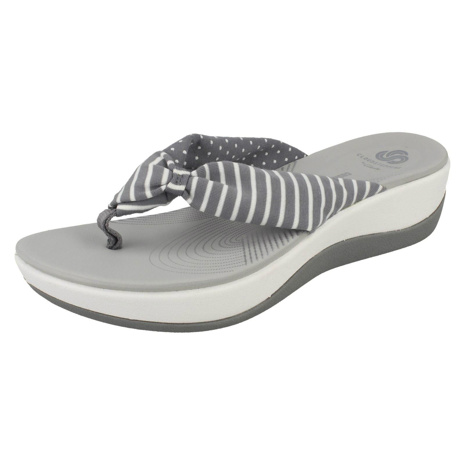 de440522e20 Clarks Arla Glison - Grey Print (textile) Womens Sandals 7 UK. About this  product. Picture 1 of 10  Picture 2 of 10 ...