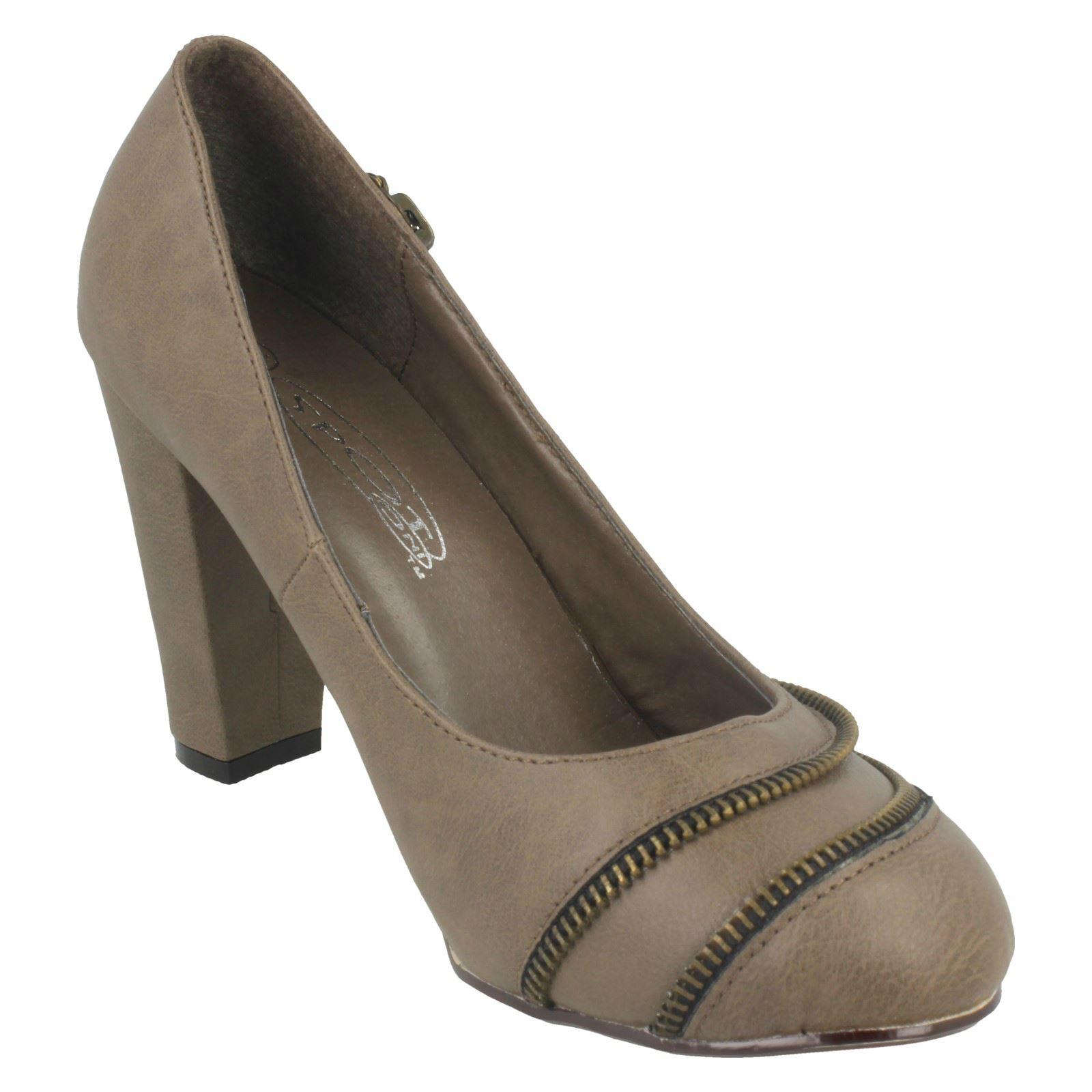 Spot on Damas Tacón Alto Court Shoe