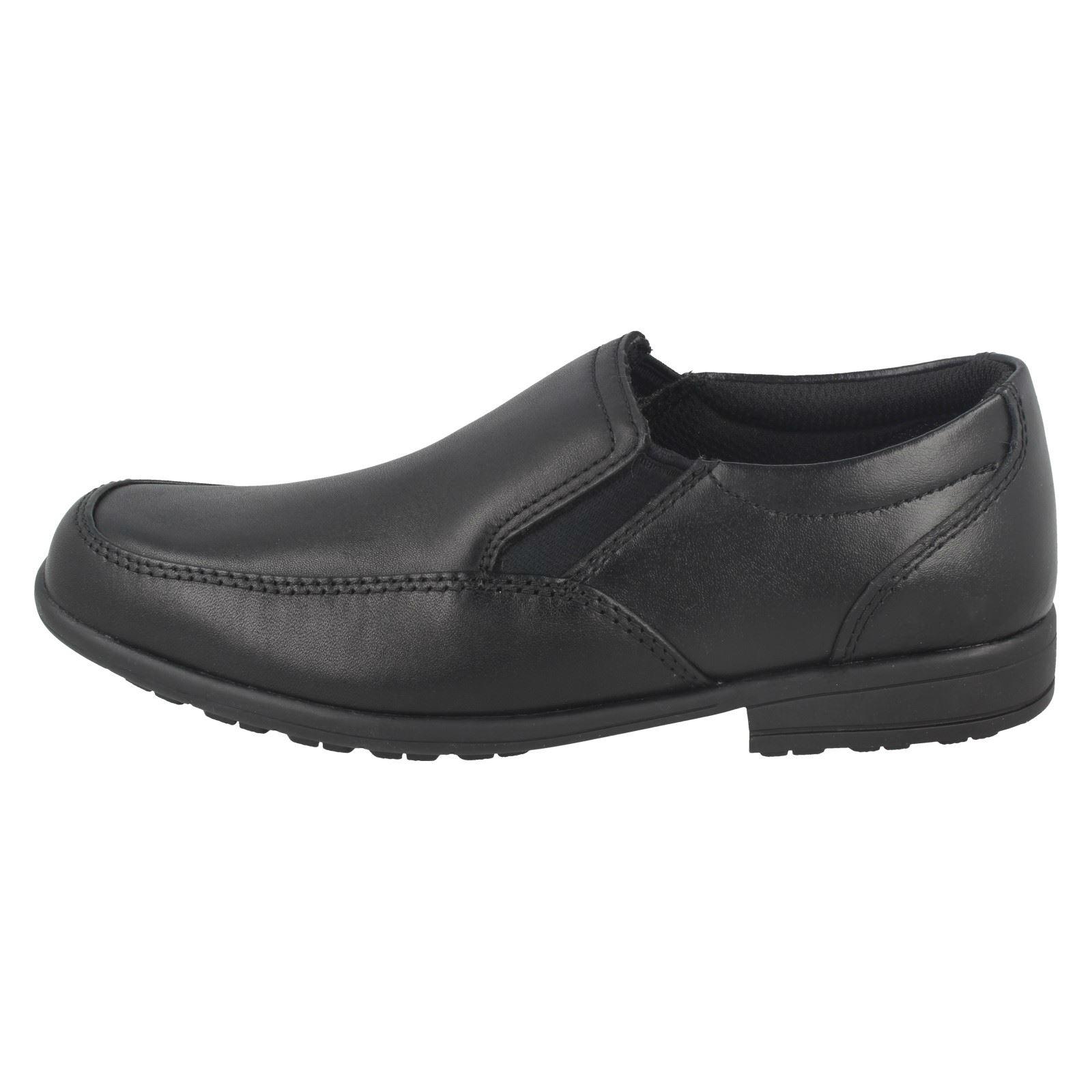 garcons-CLARKS-MOCASSINS-STYLE-Chaussures-d-039-ecole-