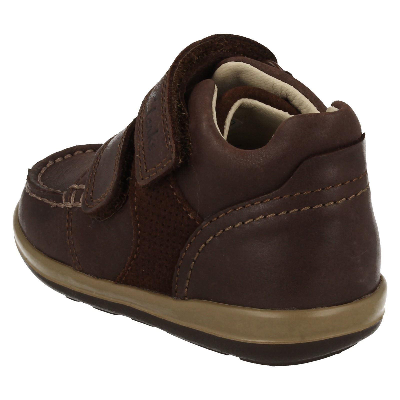 Loop Botas Softly Brown para Clarks Doc Ankle niños Hook marrón Dark rIIUwqp