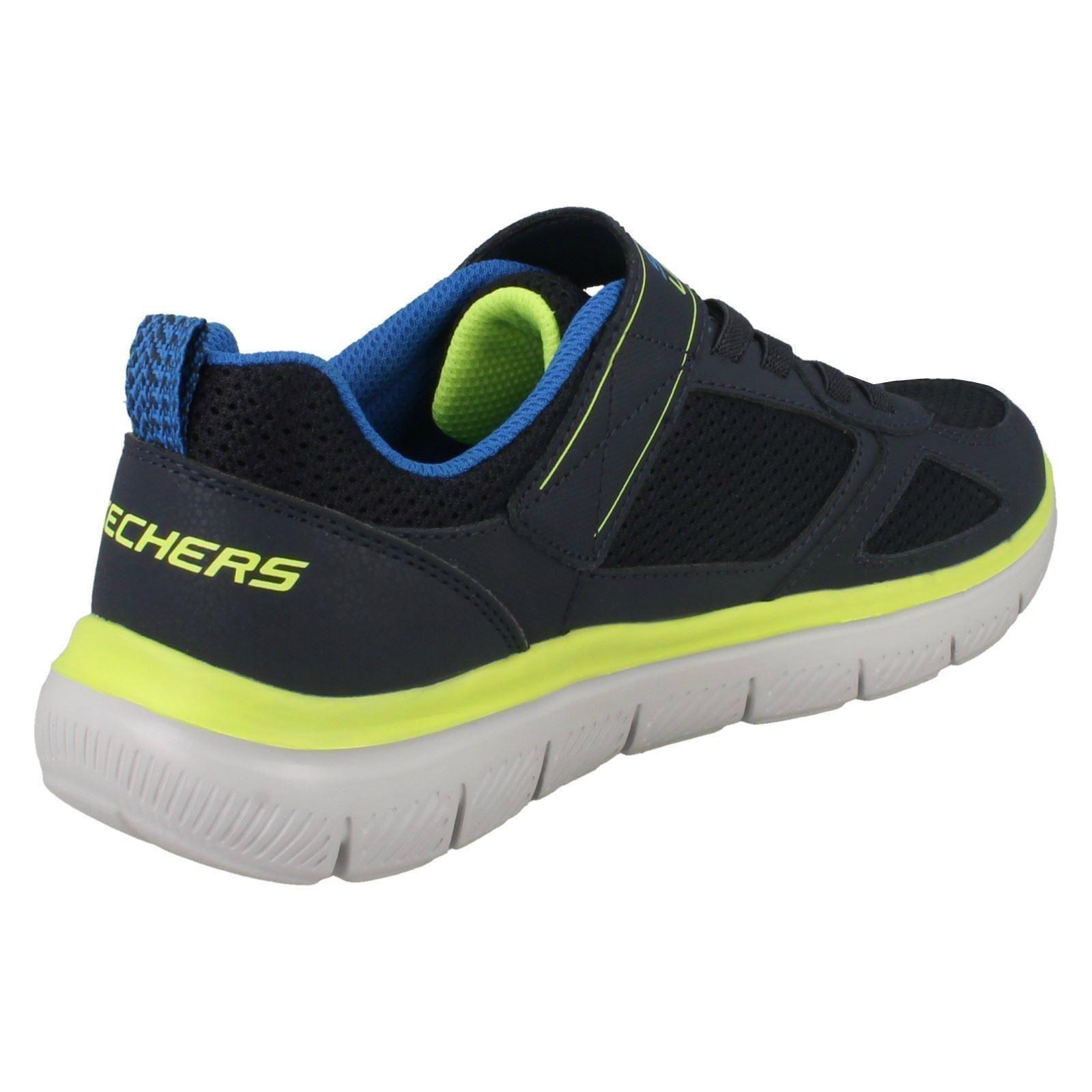 Bleu légères pour Shot 97451' garçons Skechers marine Baskets 'power 04wUqd4g