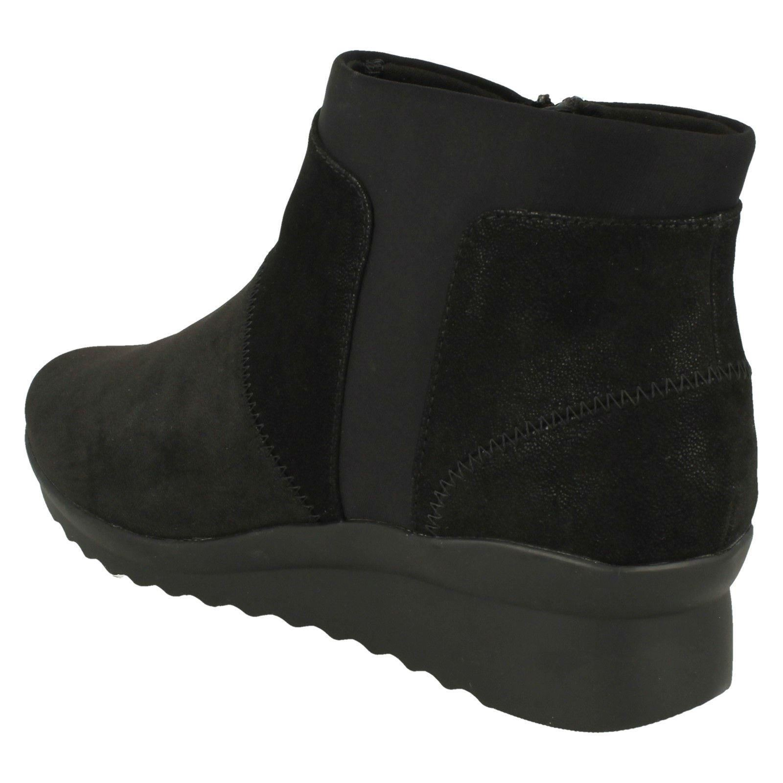 da4d6f7ad558 Ladies Clarks Cloud Steppers Ankle Boots - Caddell Sloane
