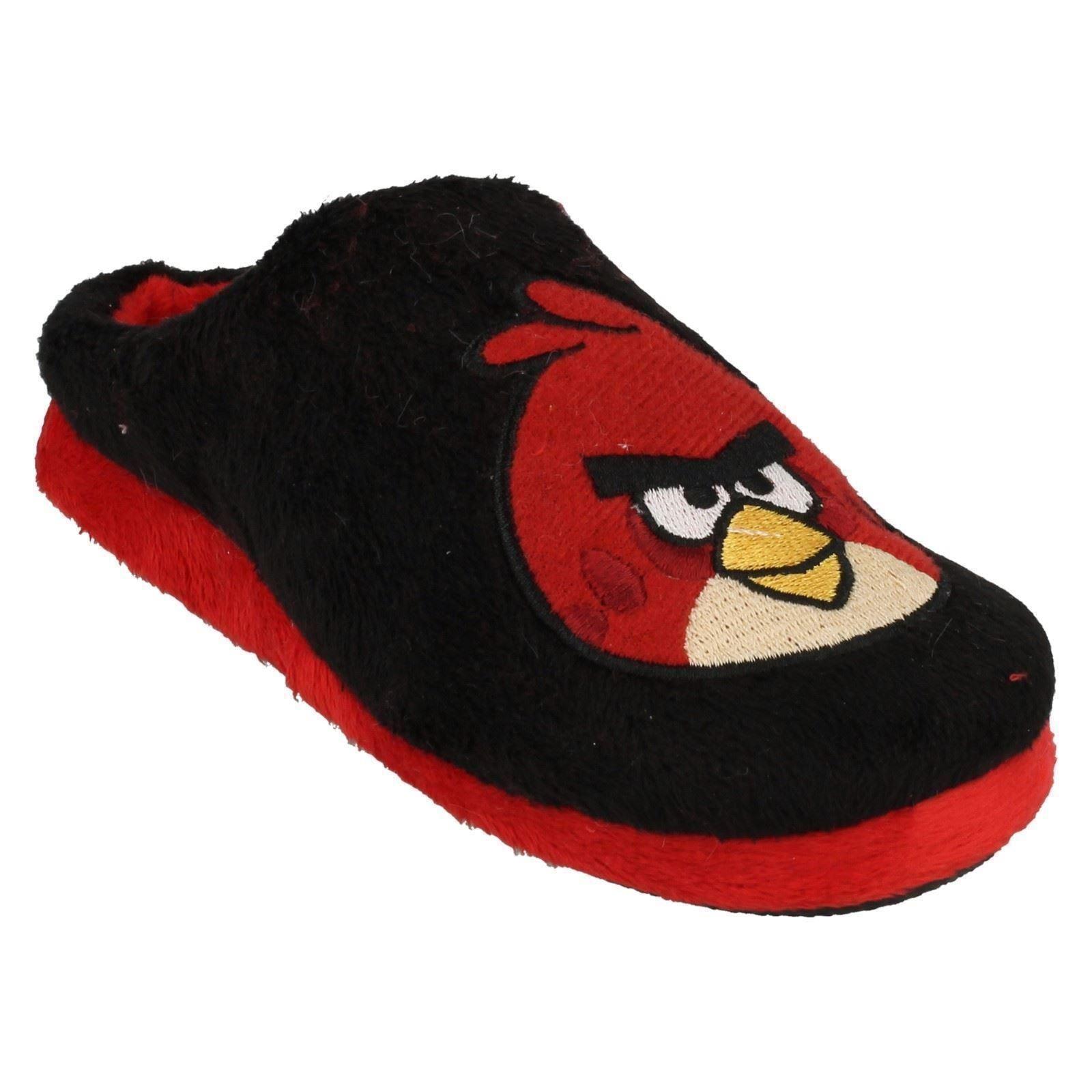 Infantil/Júnior Niños Angry Birds Zapatilla De Terciopelo