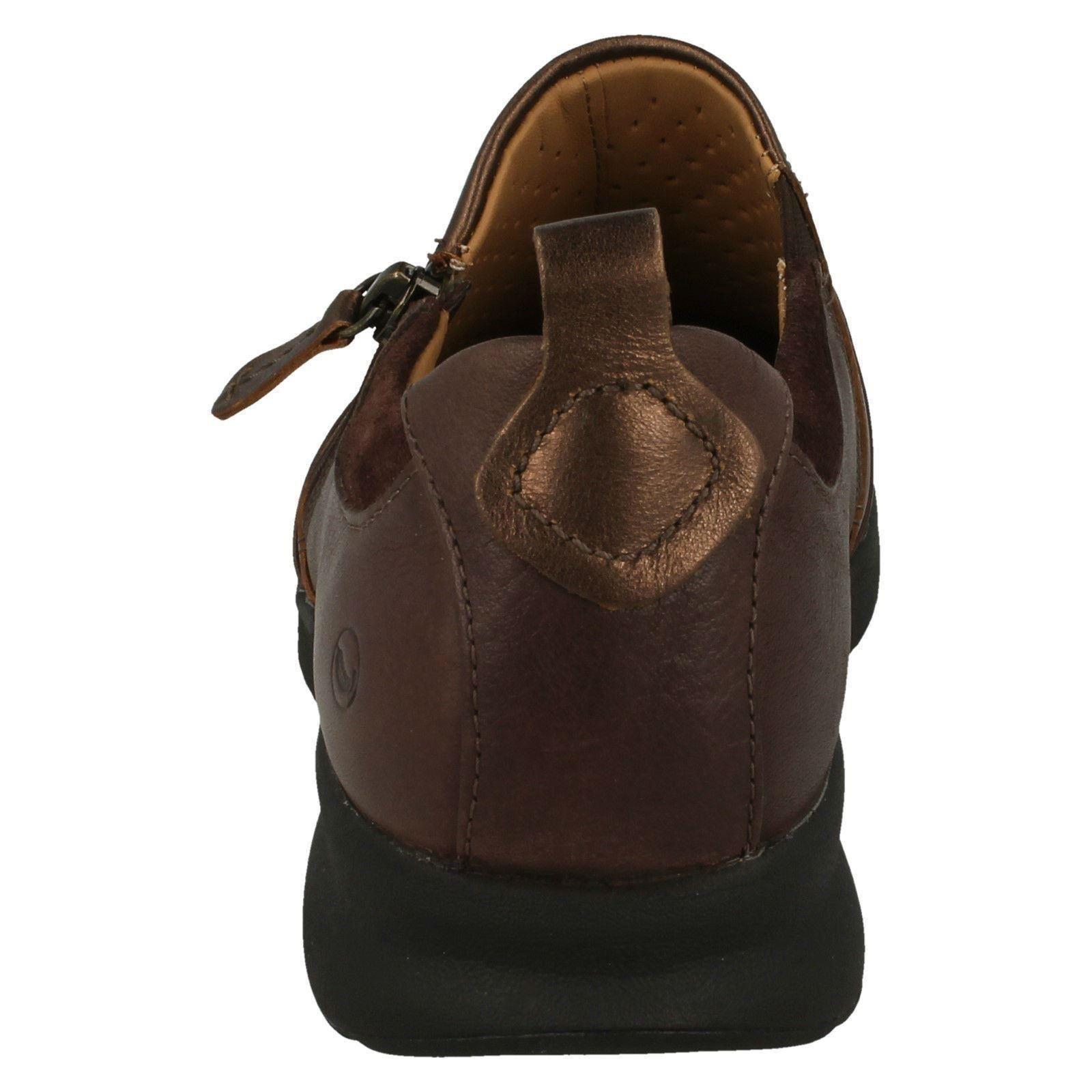 Damas Clarks Zapatos informales no estructurados Slip On adornan Postal de de Postal las Naciones Unidas c78cc8