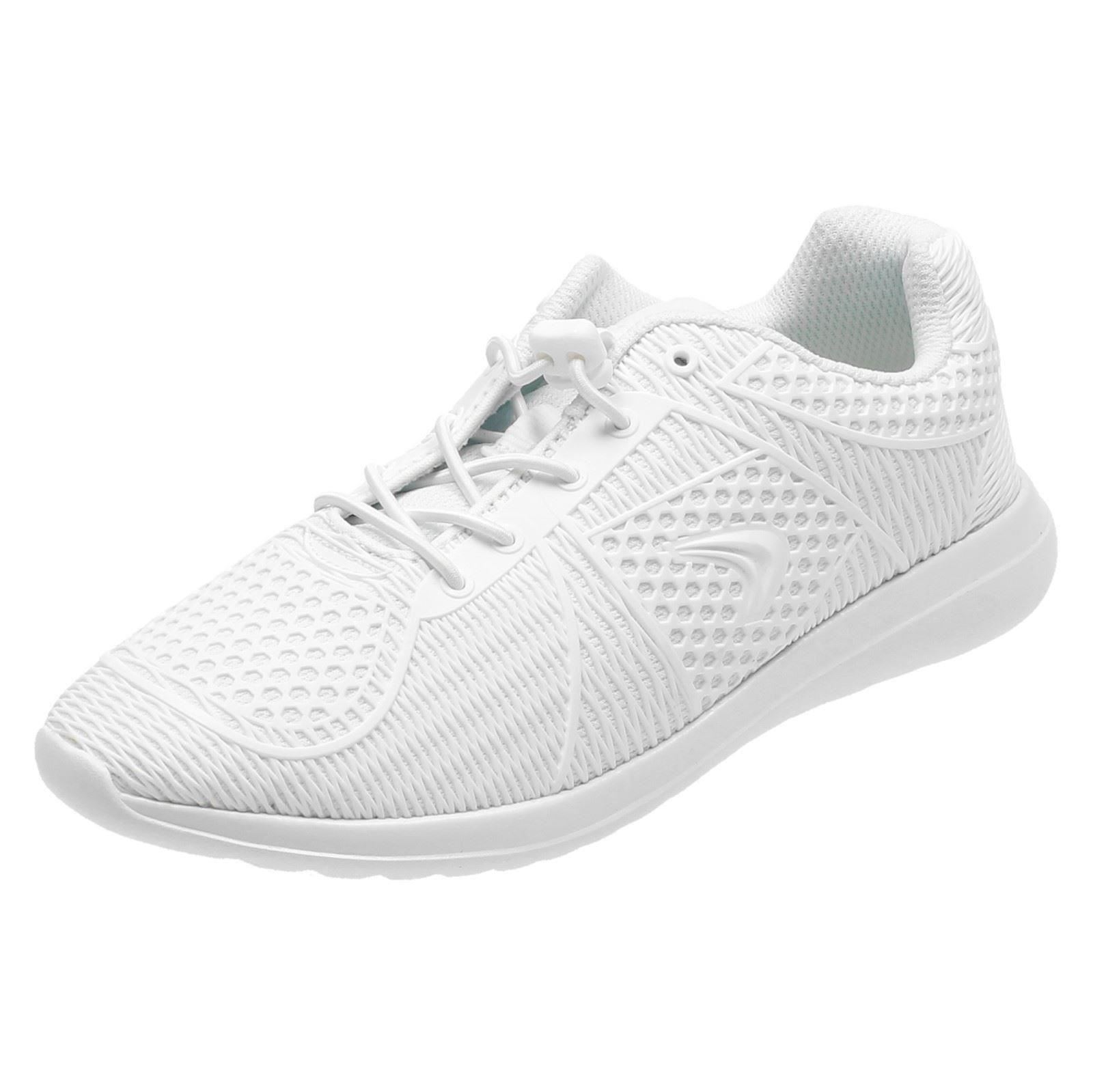 c3a2722e808 Boys Clarks Casual Speed Laces Lightweight Trainers Sprintlane UK 2.5 White  F. About this product. Picture 1 of 10; Picture 2 of 10 ...