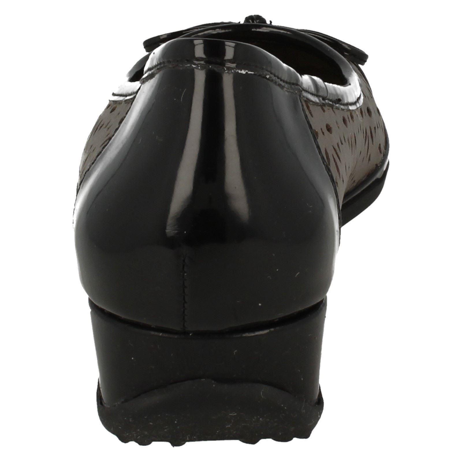 Dark Low Wedge Taupe Van Smart Pumps Dal Ladies Monteray beige Z0nHRgS