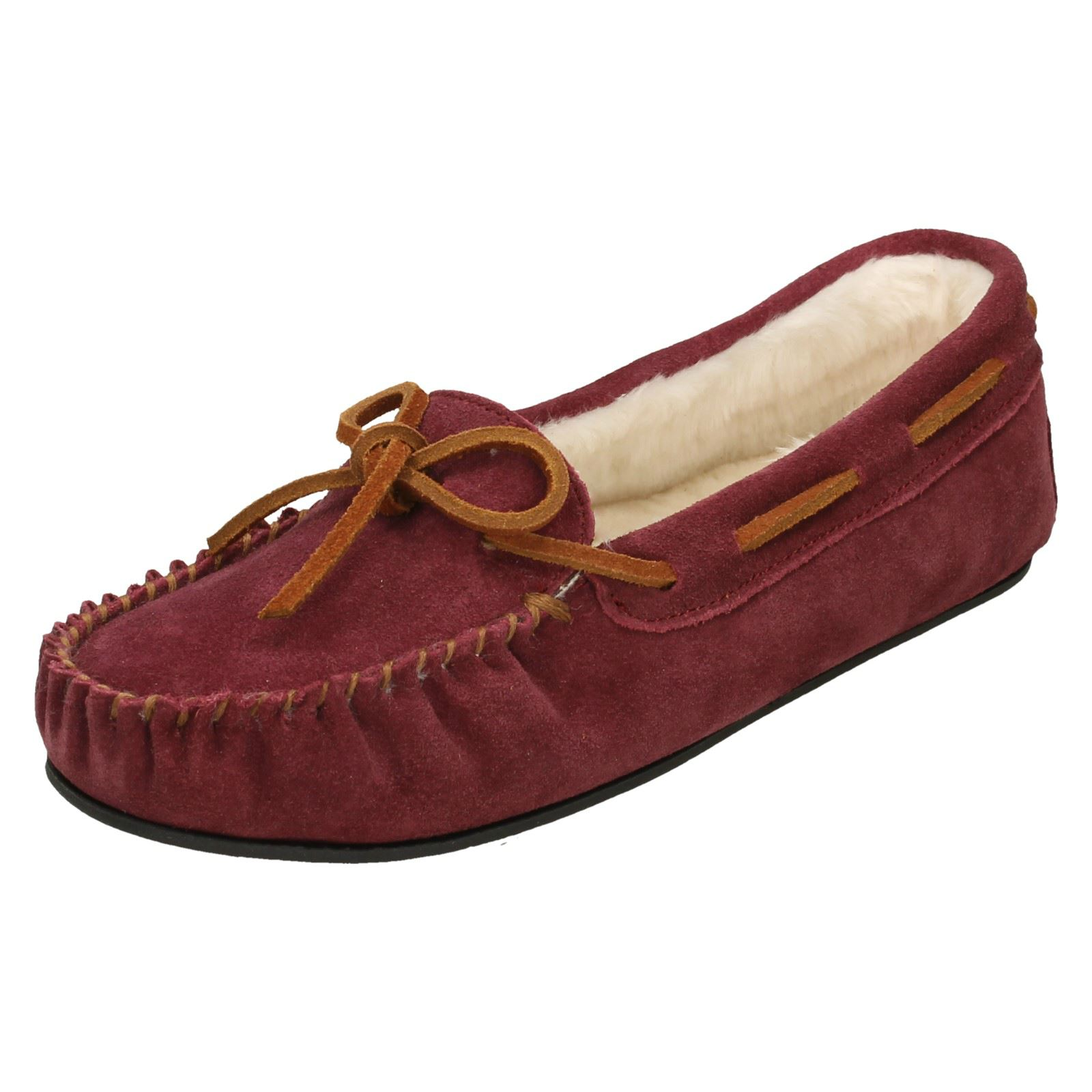 Ladies K by Clarks Wake Me Casual Moccasin Slippers