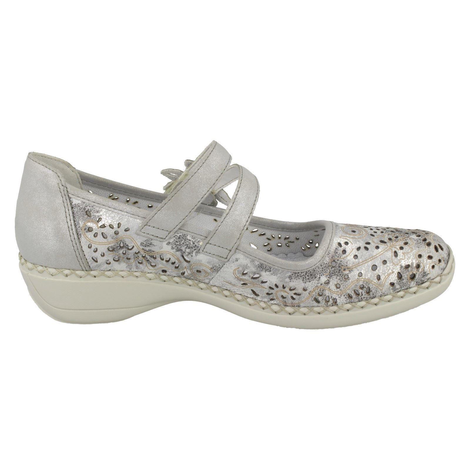 Damen Rieker Flache Schuhe Schuhe Schuhe 41372 f0e1b8