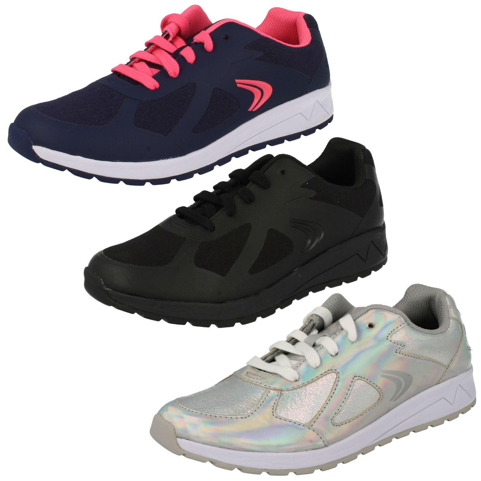 GIRLS JUNIOR CLARKS ADVEN MAZE HOOK /& LOOP SHOES CASUAL SPORTS TRAINERS SIZE