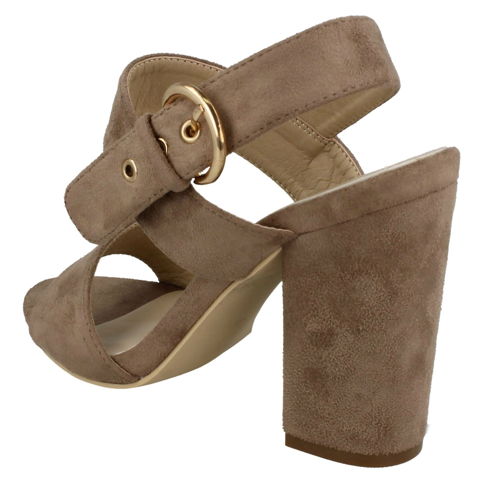 Mule Nude Heel Michelle Sandals High Anne beige Ladies IwqvxFIBO